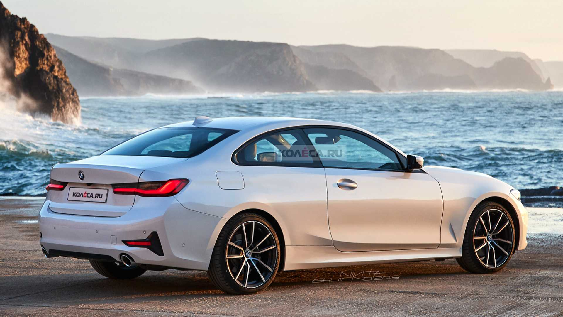 2021 bmw 4 series coupe rendering shows refined styling