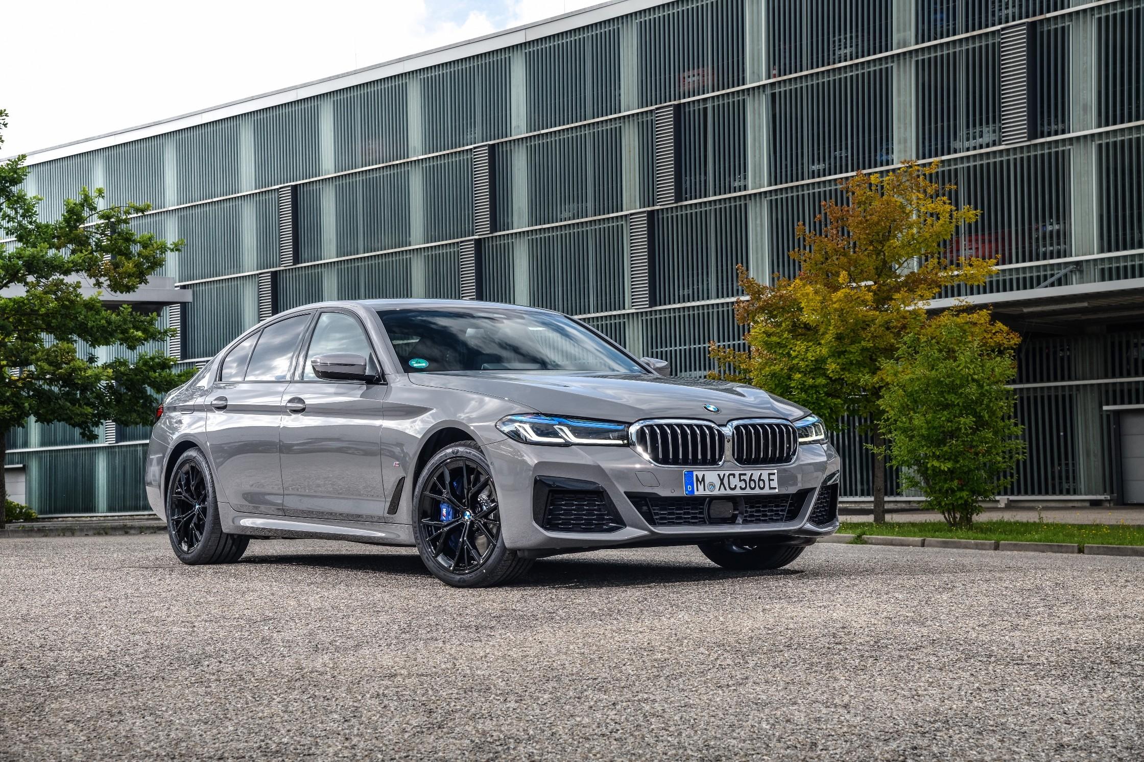 2021 bmw 5 series gains powerful plug-in hybrid option
