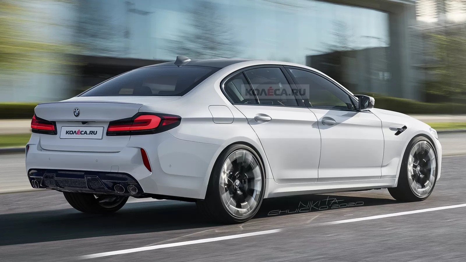 2021 bmw m5 gets accurately rendered ahead of reveal