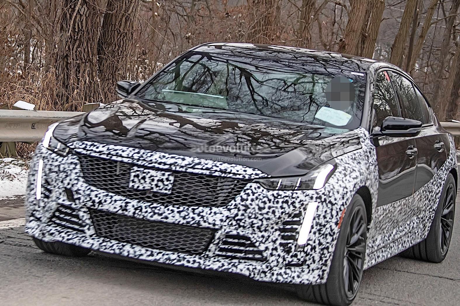 2021 Cadillac CT5-V Blackwing Has Manual Transmission ...