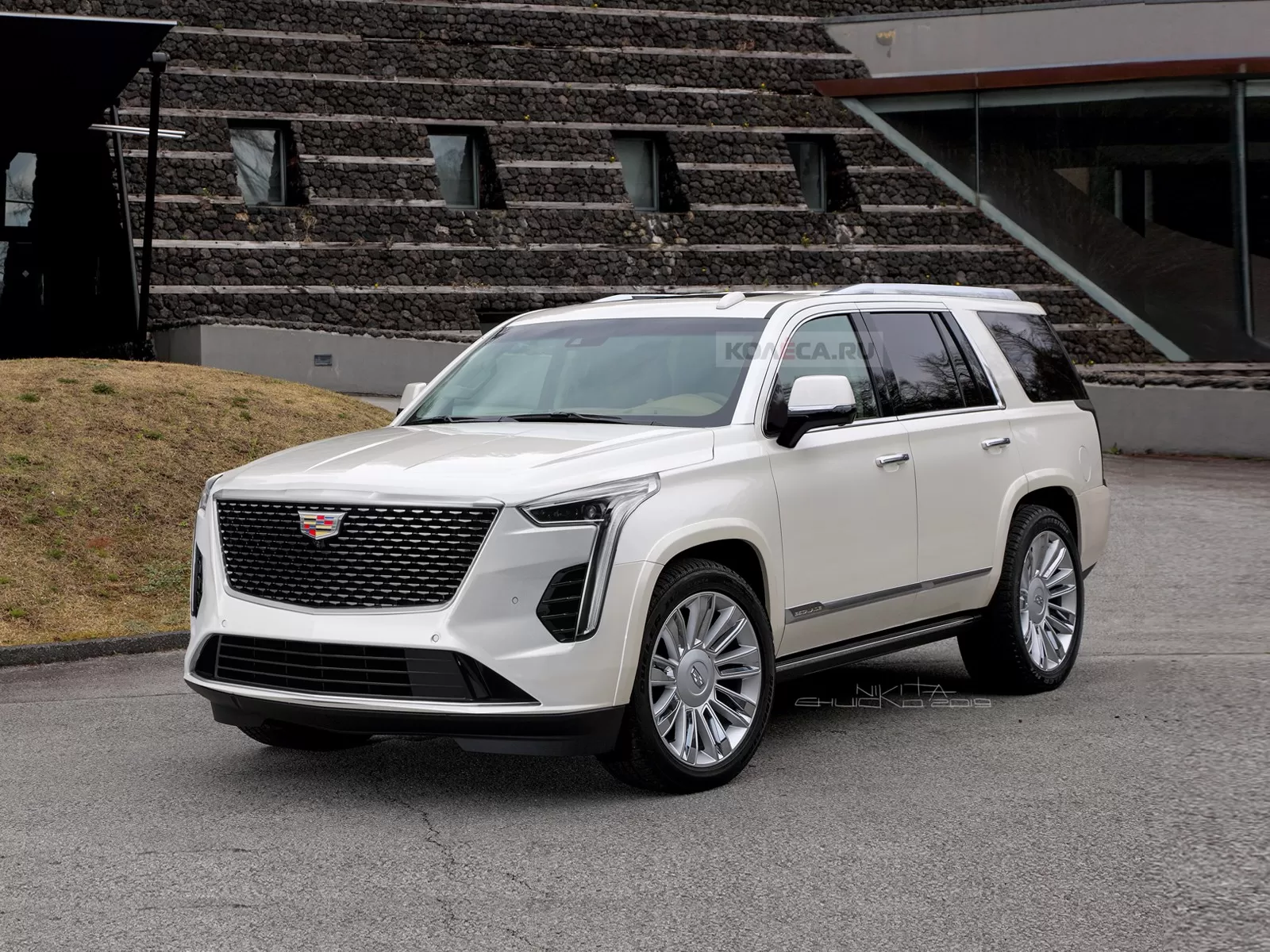 2021 Cadillac Escalade Rendered With CT6 Front, XT6 Rear ...