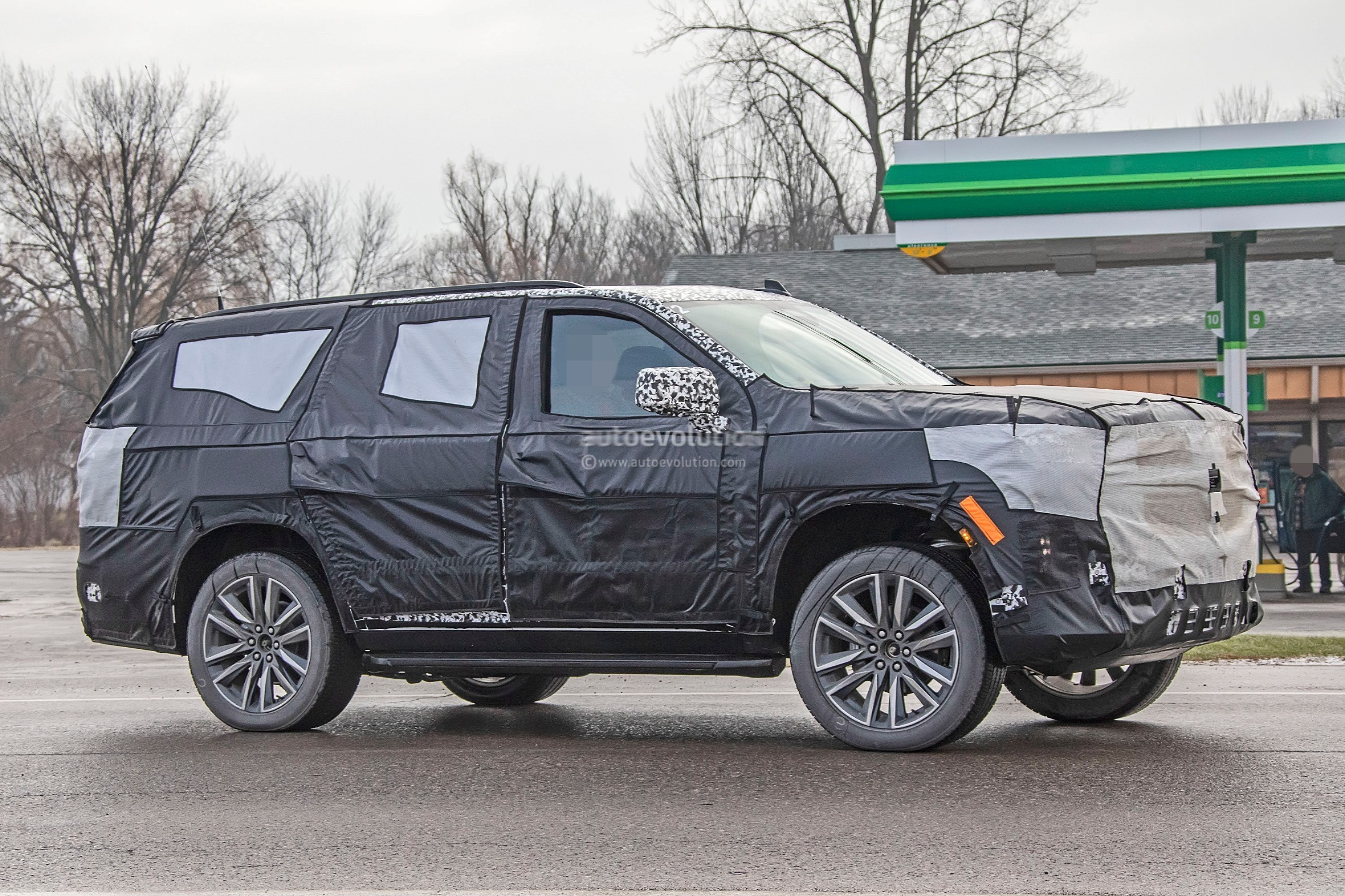 2021 cadillac escalade rendered with ct6 front  xt6 rear