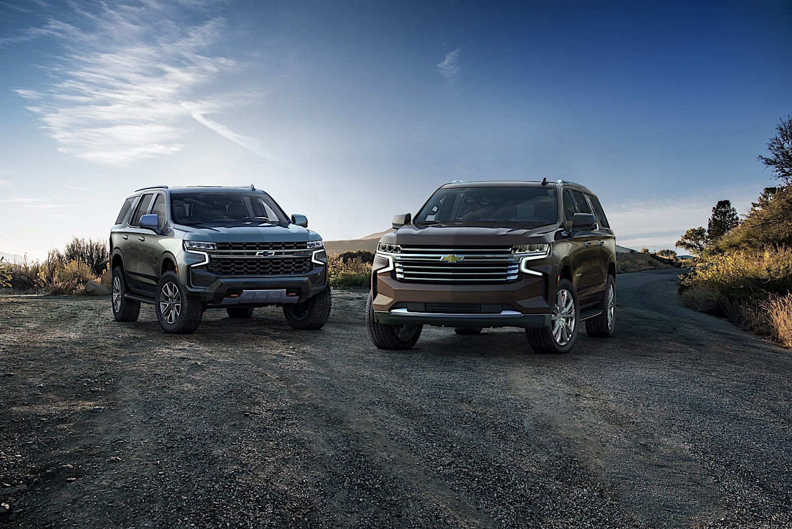 2021 chevrolet suburban costs 2700 more than the tahoe
