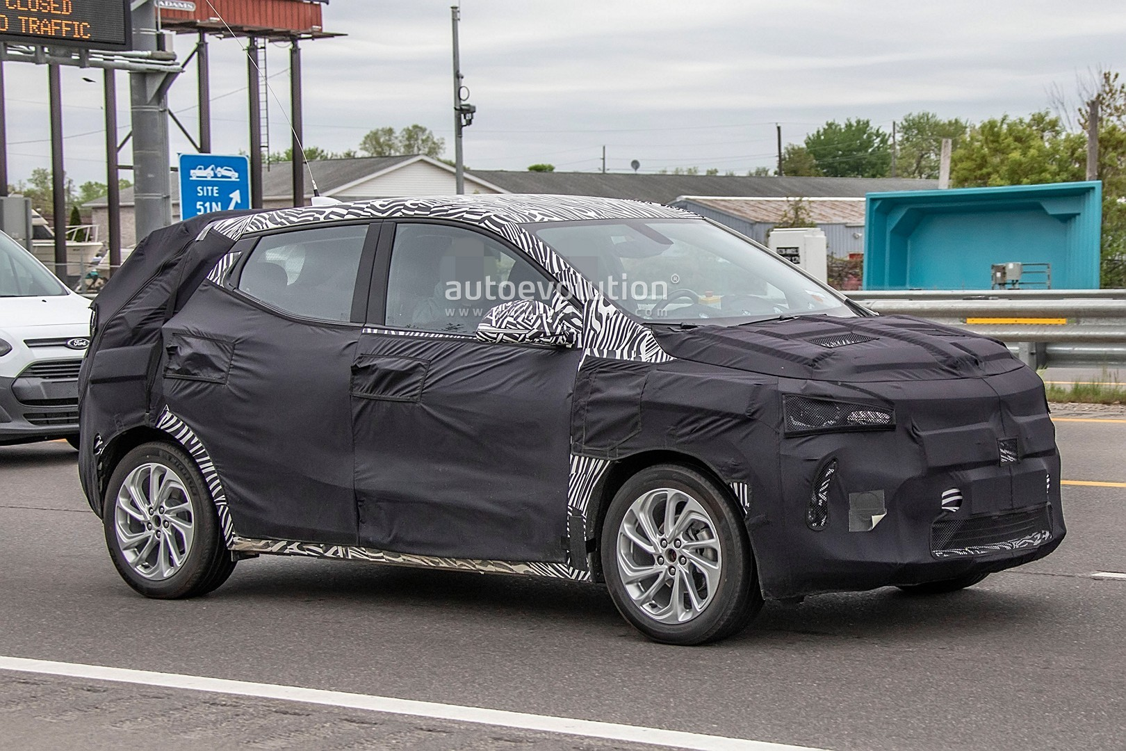 2021 chevy bolt electric utility vehicle euv spied is