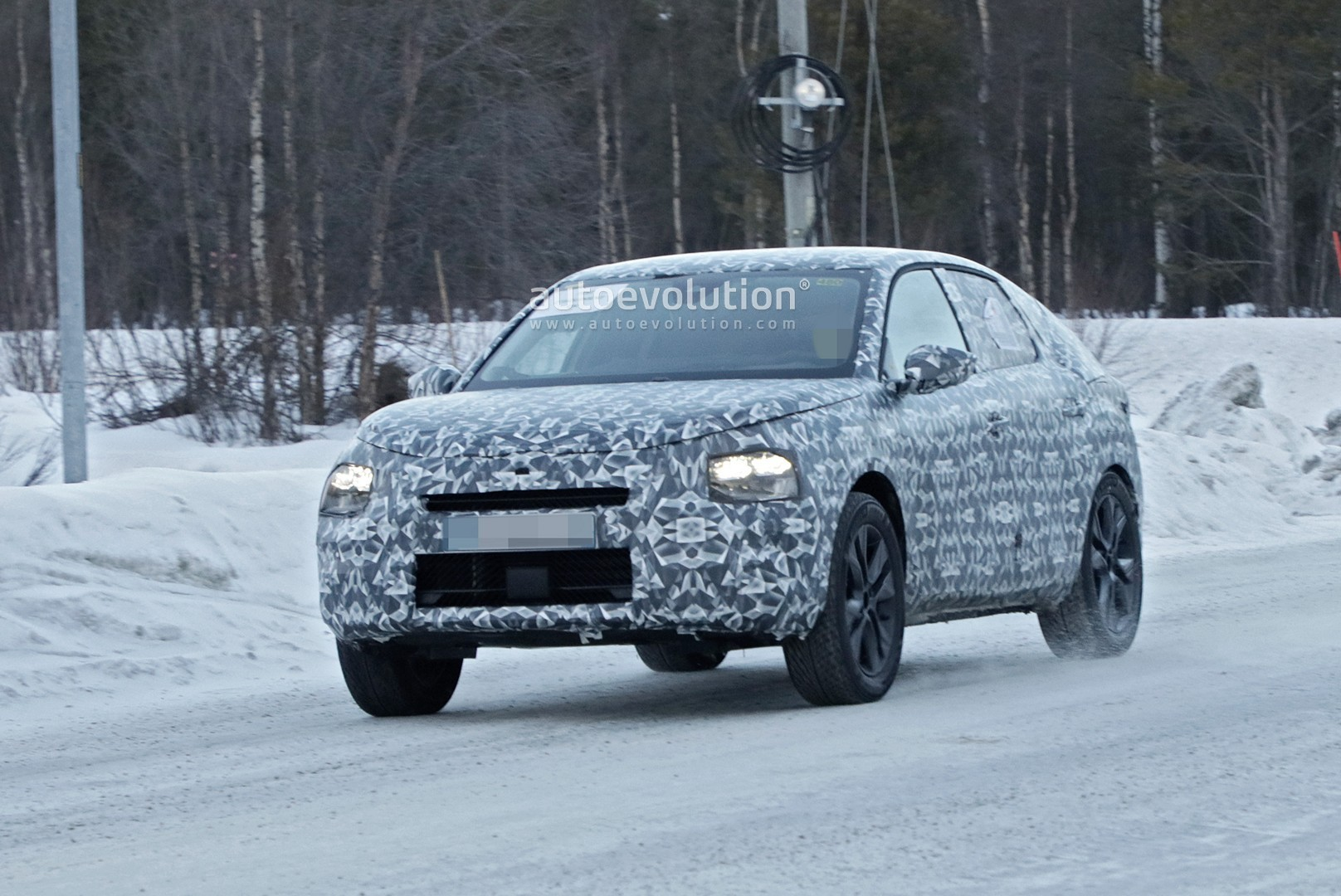 2021 Citroen C4 Cactus Successor Spied Looks Like A Baby