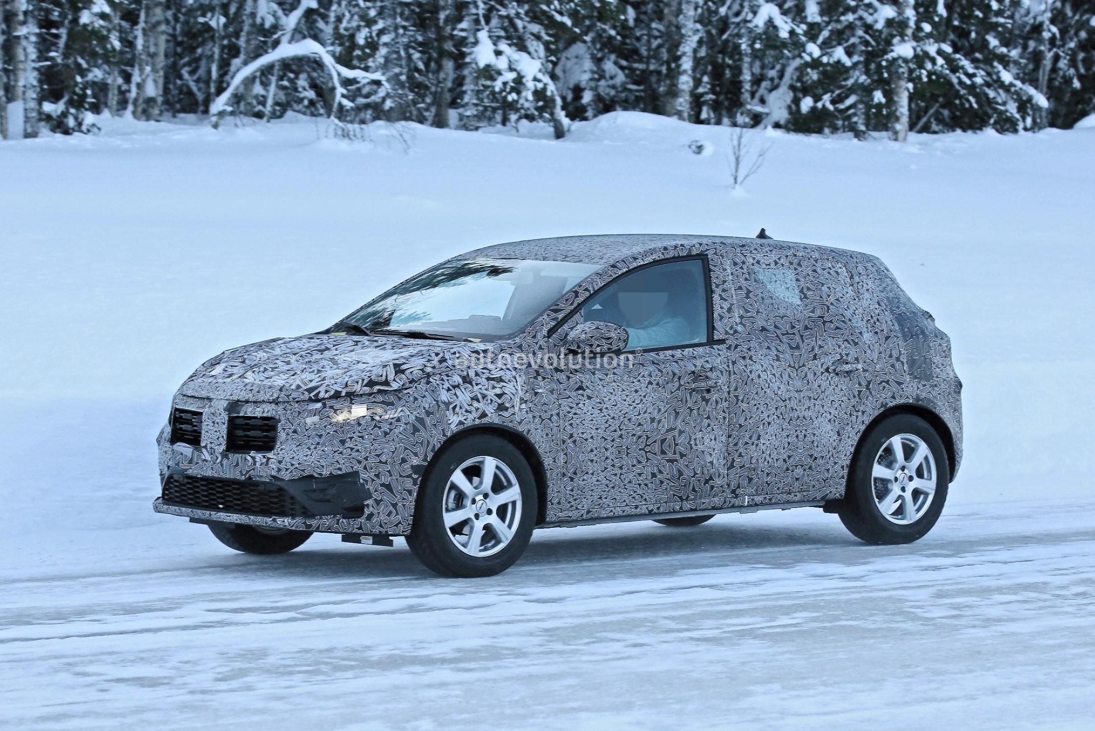 Emissions Test Utah >> 2021 Dacia Sandero Prototype Features New Infotainment System, Rear Drum Brakes - autoevolution