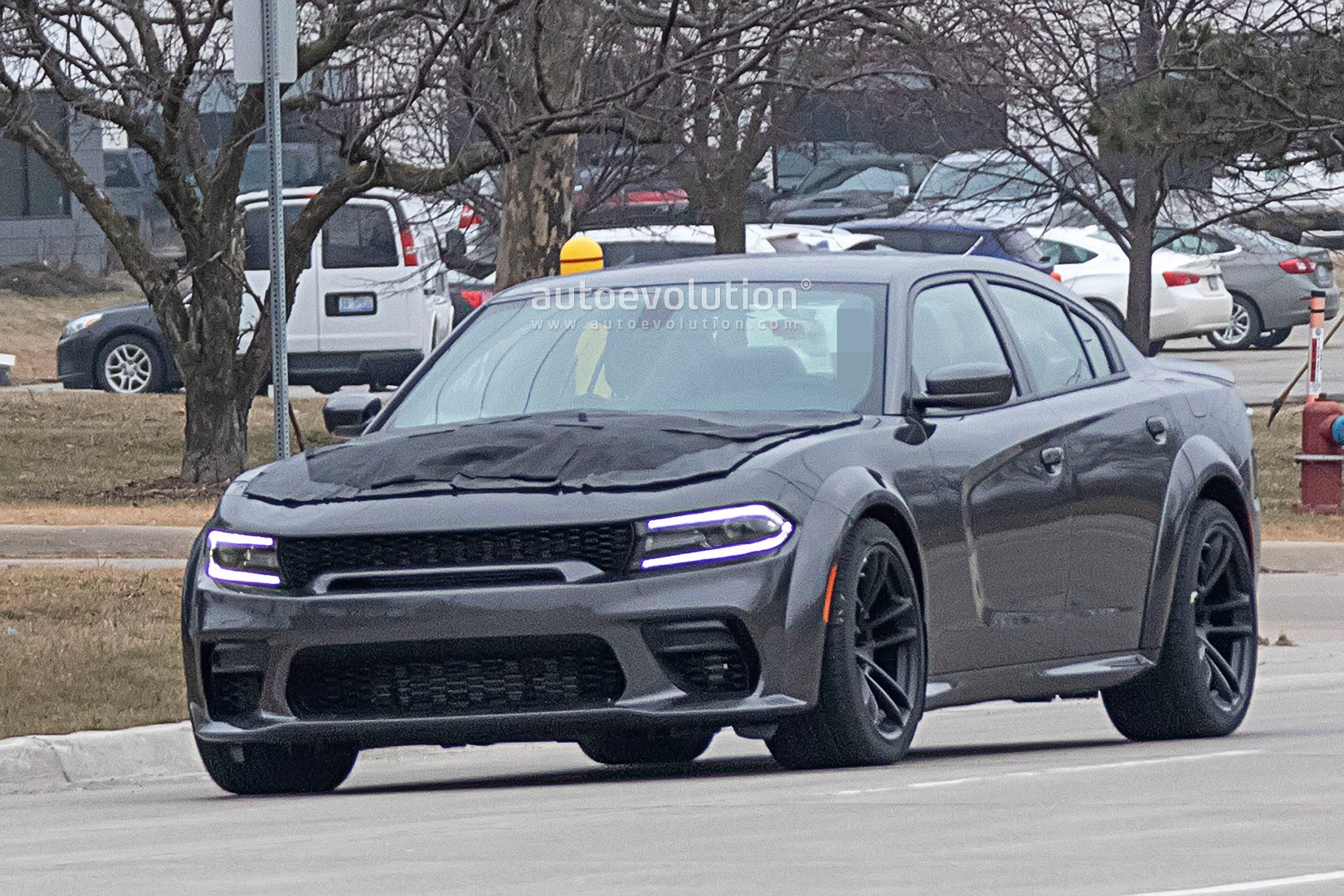 2021 Dodge Charger Hellcat Redeye Widebody Spied, Is ...