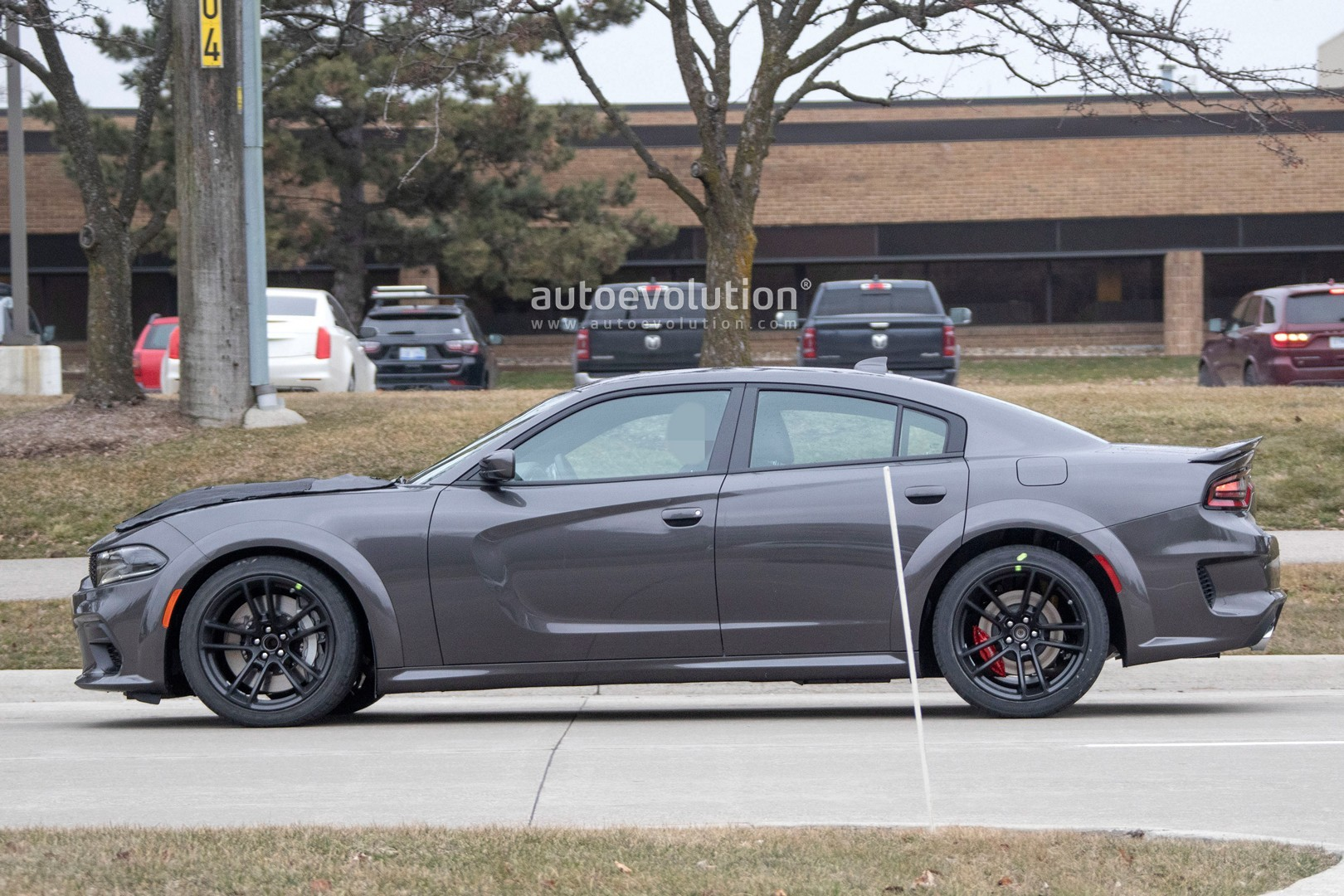 2021 dodge charger hellcat redeye widebody spied is