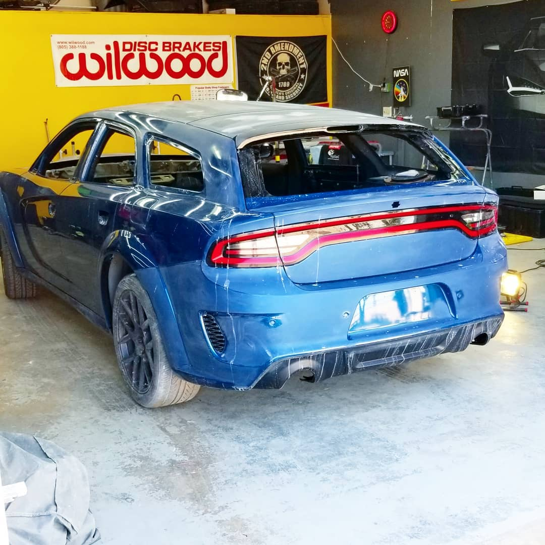 """2021 Dodge Charger """"Magnum Hellcat"""" Wagon Build Is Coming ..."""