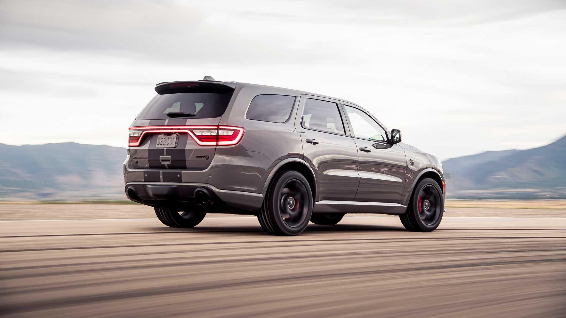 "2021 Dodge Durango SRT Hellcat Design Flaws ""Fixed"" in ..."