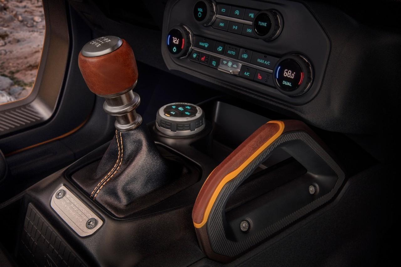 2021 Ford Bronco Rocks Manual Transmission, 37-Inch BFG ...