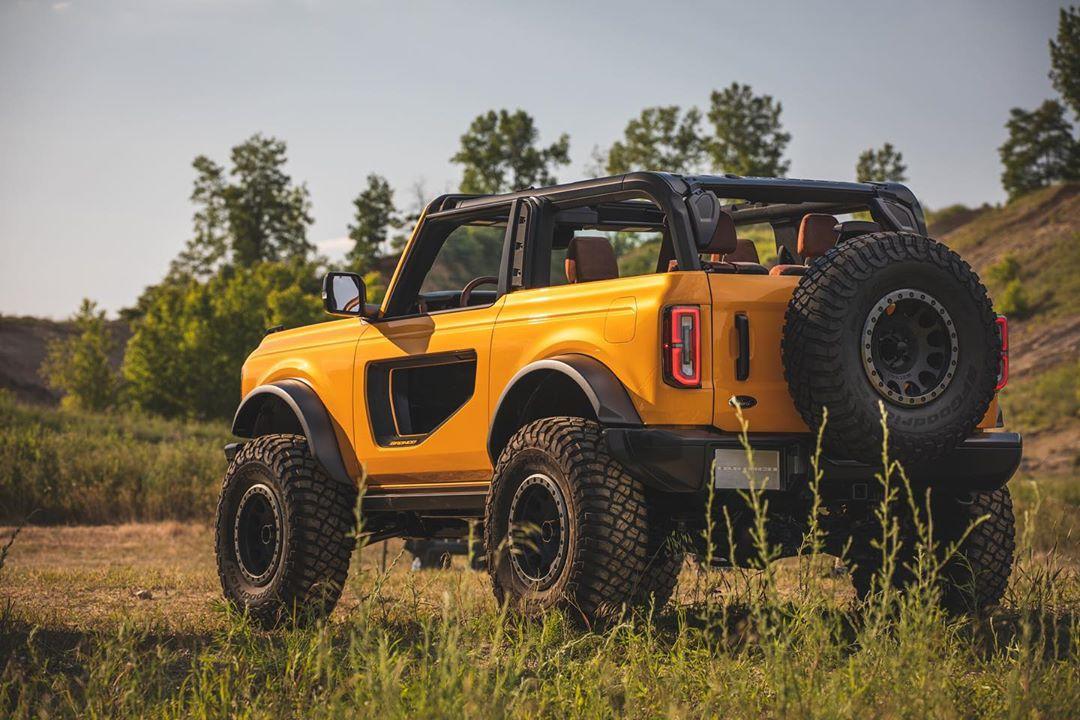 19 Inch Tires >> 2021 Ford Bronco Rocks Manual Transmission, 37-Inch BFG ...