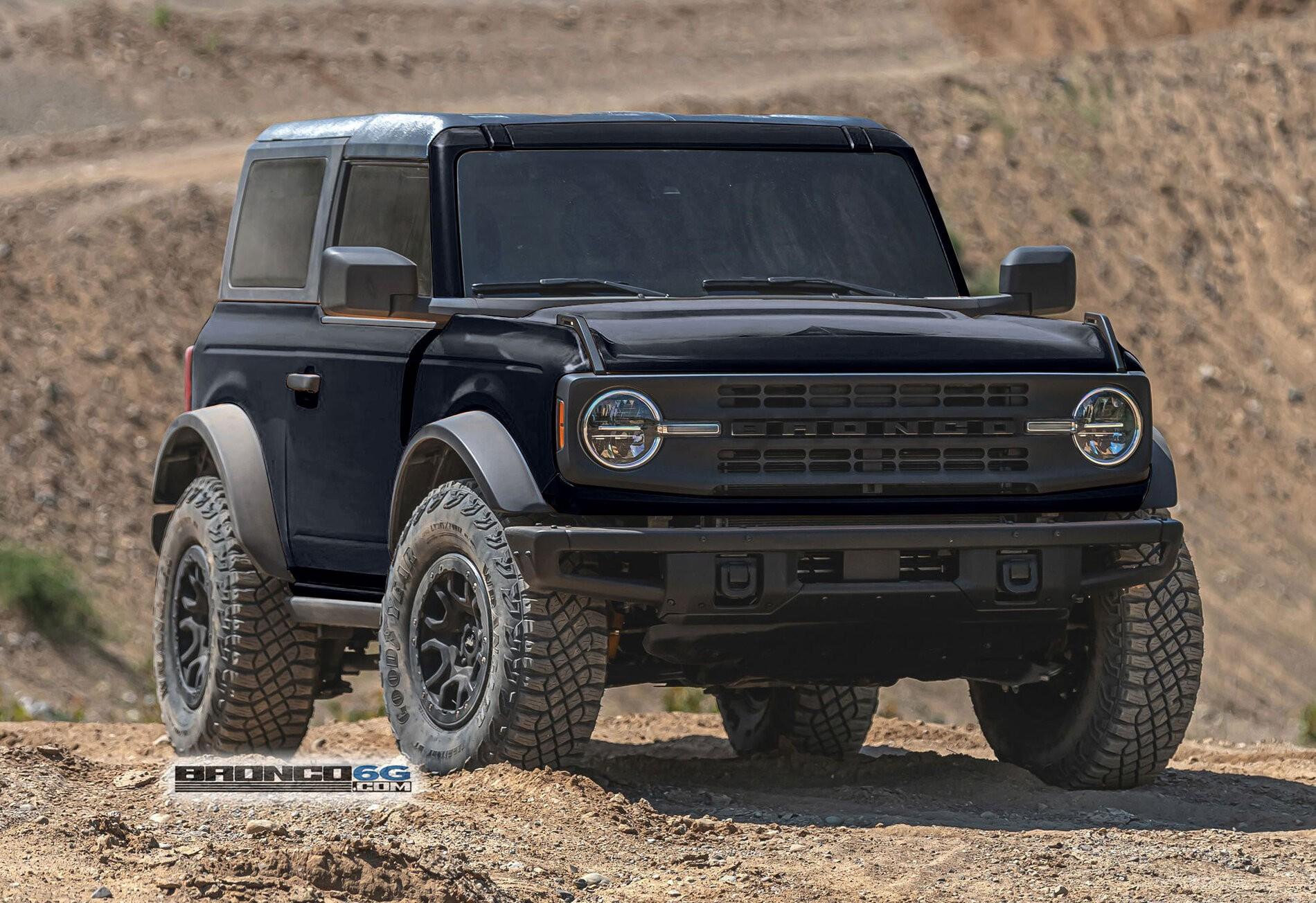 2021 Ford Bronco Sasquatch 2-Door Photoshop-Painted in ...
