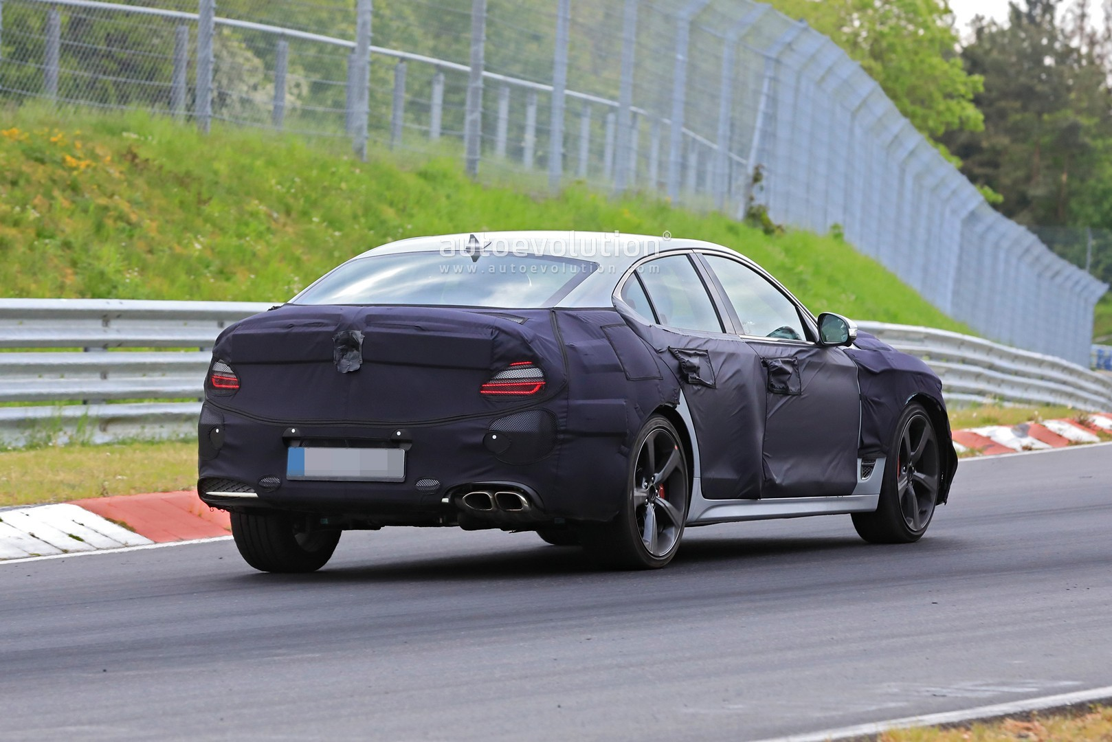 2021 Genesis G70 Spotted Testing 2.5-Liter Turbo at the ...