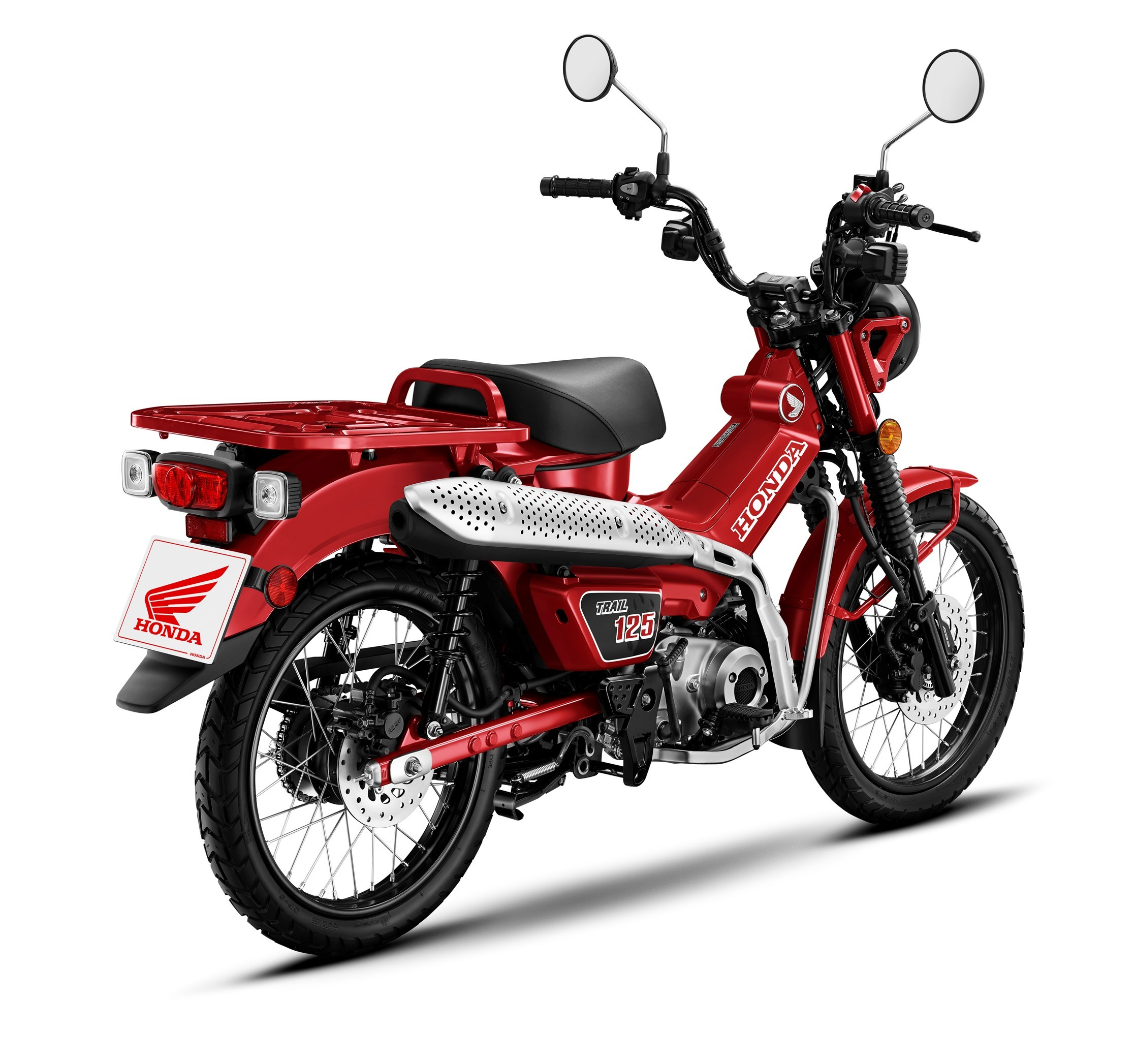 2021 Honda Mini Motorcycle Lineup Welcomes All-New Trail ...