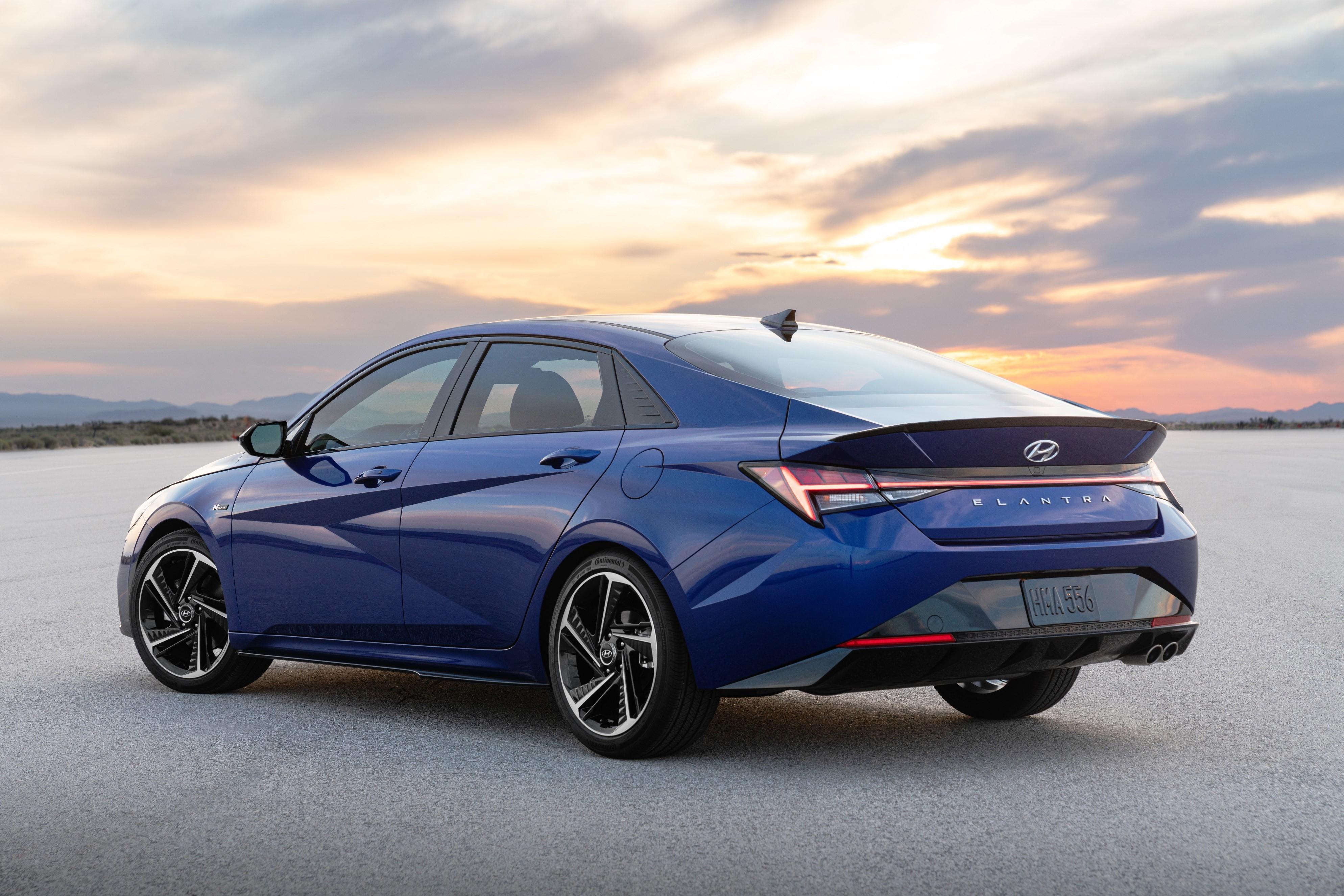 2021 Hyundai Elantra N Line Rolls Out, Sports Sedan Packs ...
