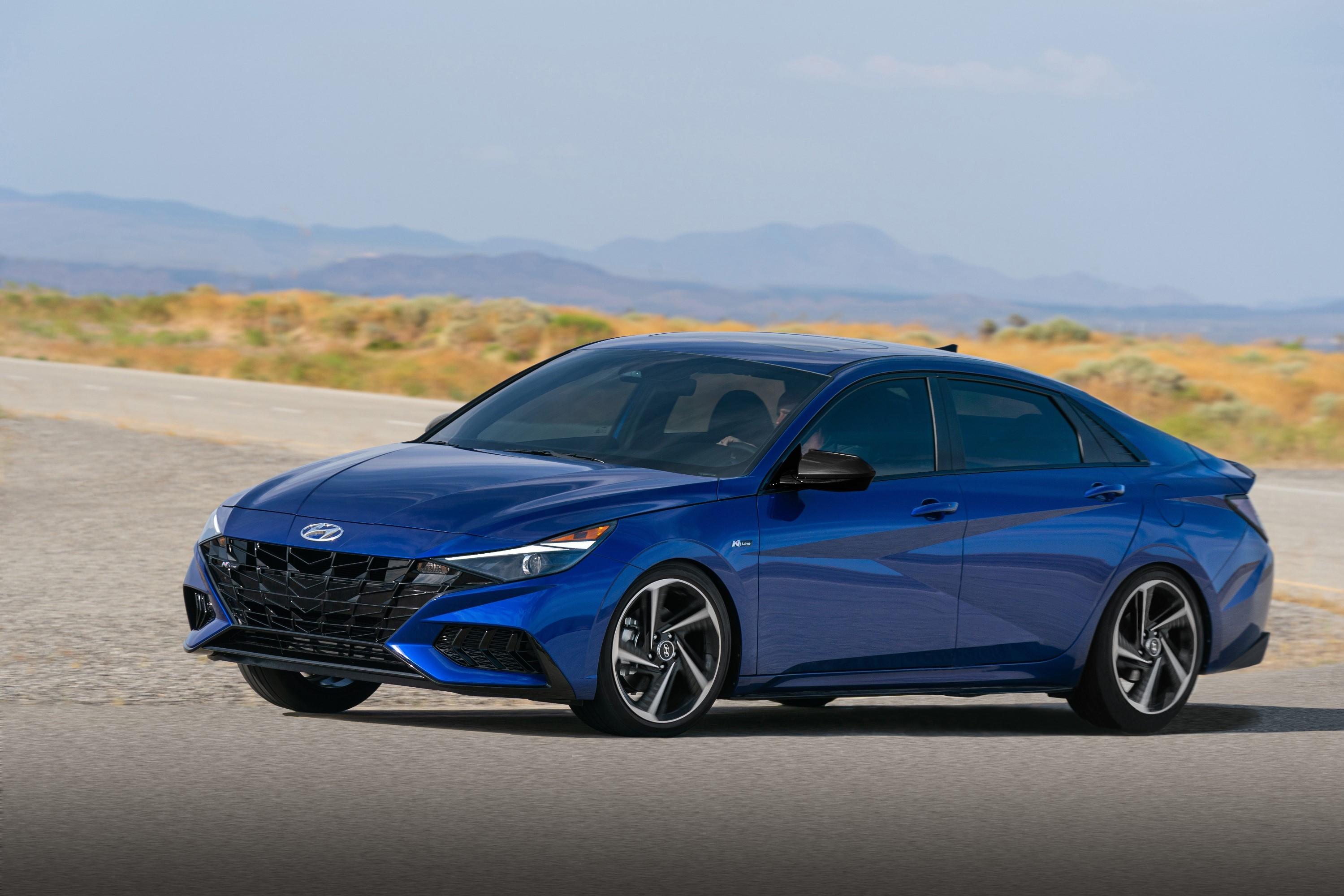 2021 hyundai elantra n line rolls out sports sedan packs