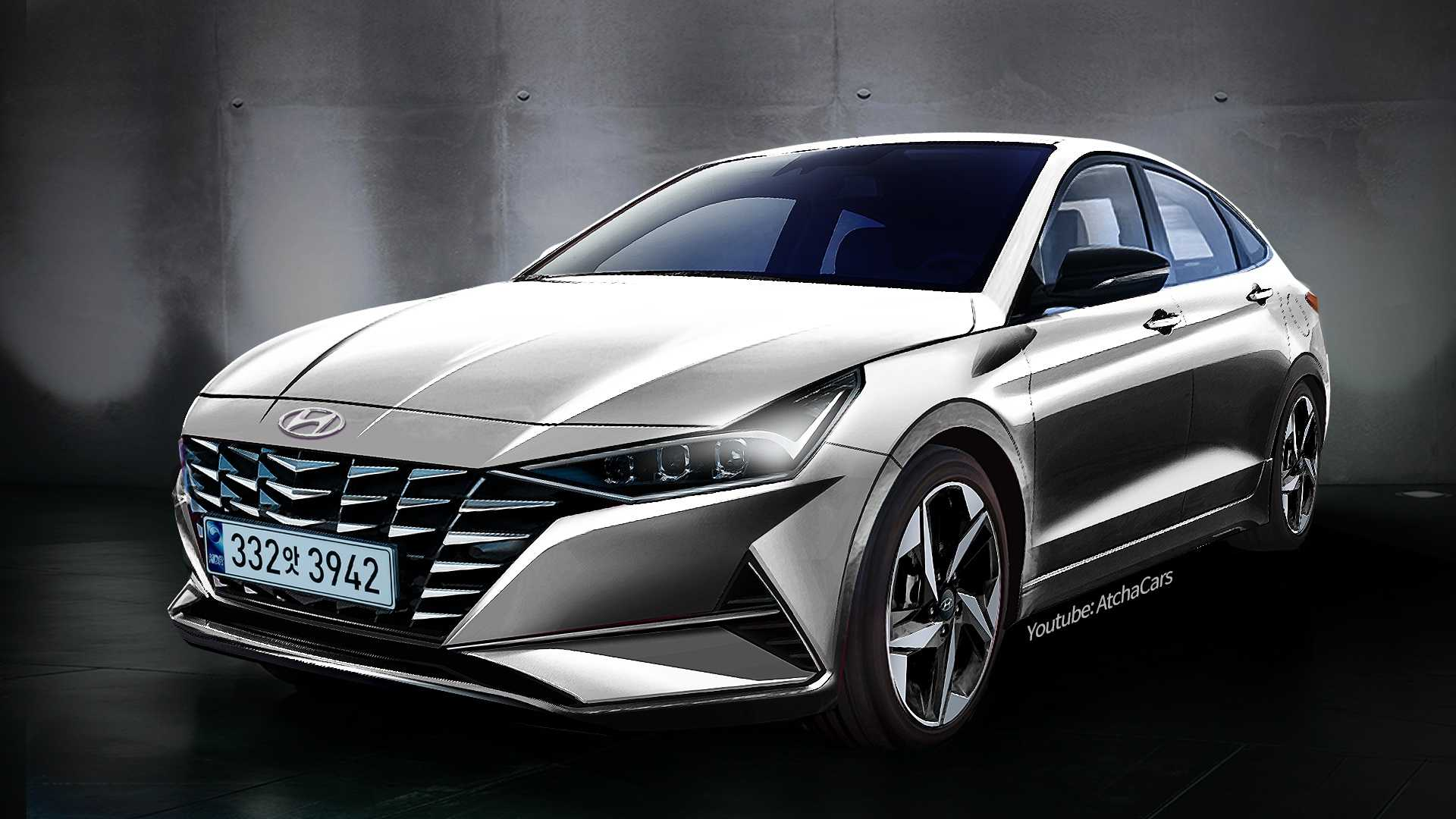 3 Hyundai Elantra Rendering Looks Crazy, Is Accurate