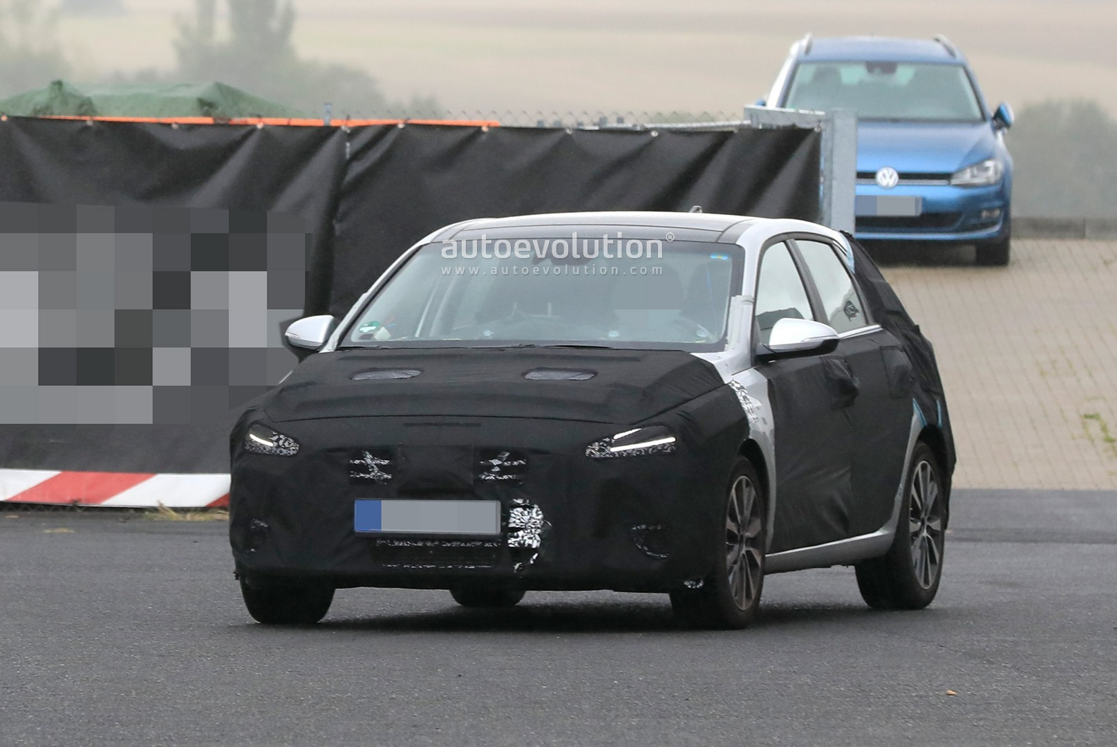 2021 Hyundai I30 Facelift Spied With Big Grille Nexo Like