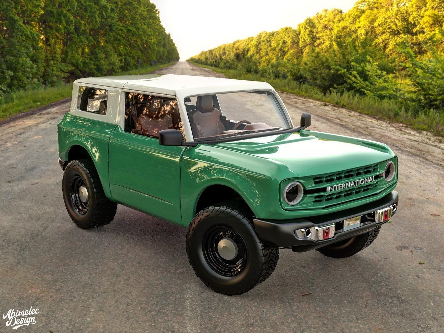 2021 international harvester scout imagined with ford