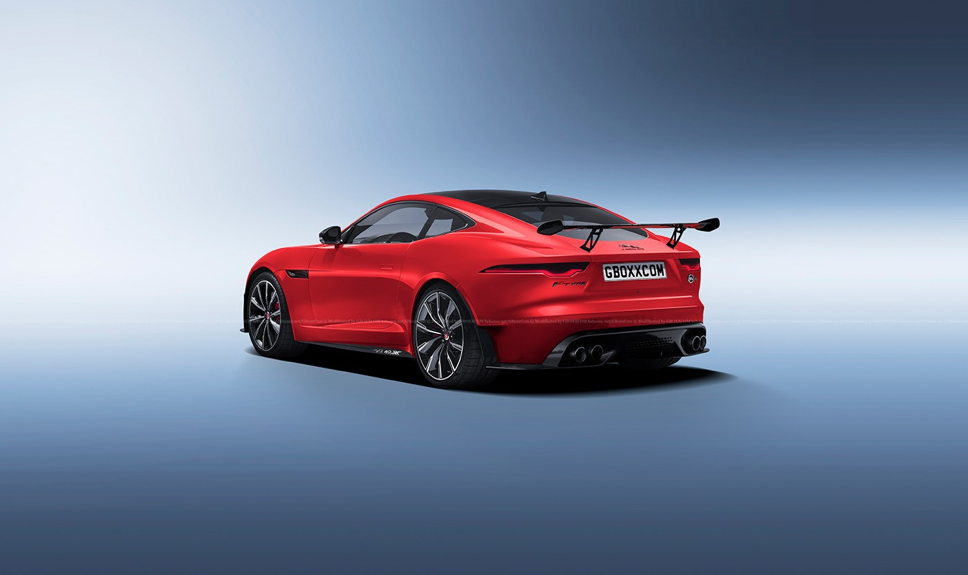 2021 Jaguar F-Type SVO and SVR Rendered With Big Aero ...