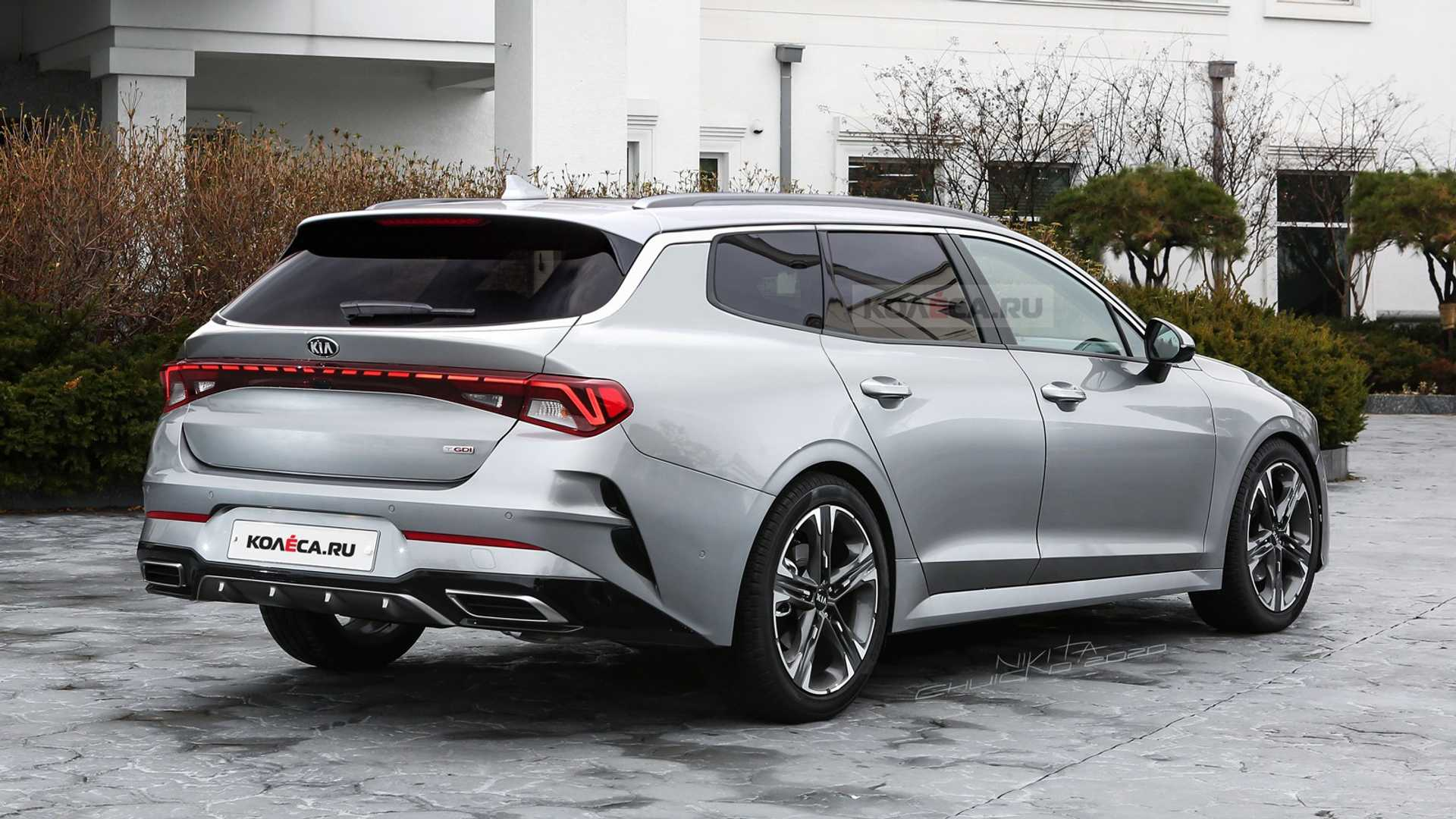 2021 kia optima wagon rendered looks like an suv cure