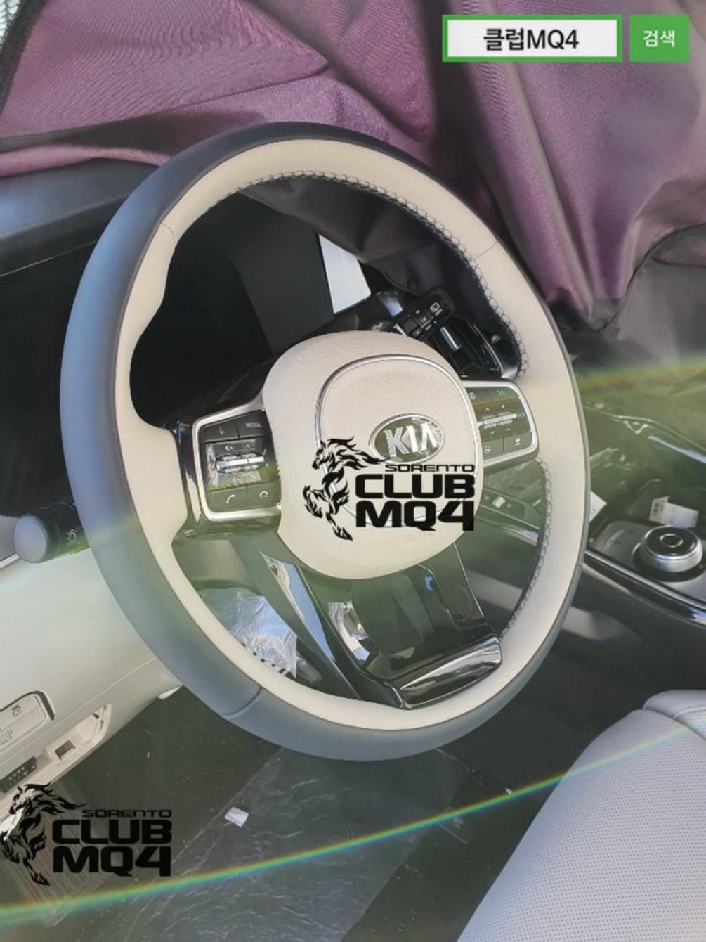 Black Kia Soul >> 2021 Kia Sorento MQ4 Spotted Undisguised, Interior Has ...
