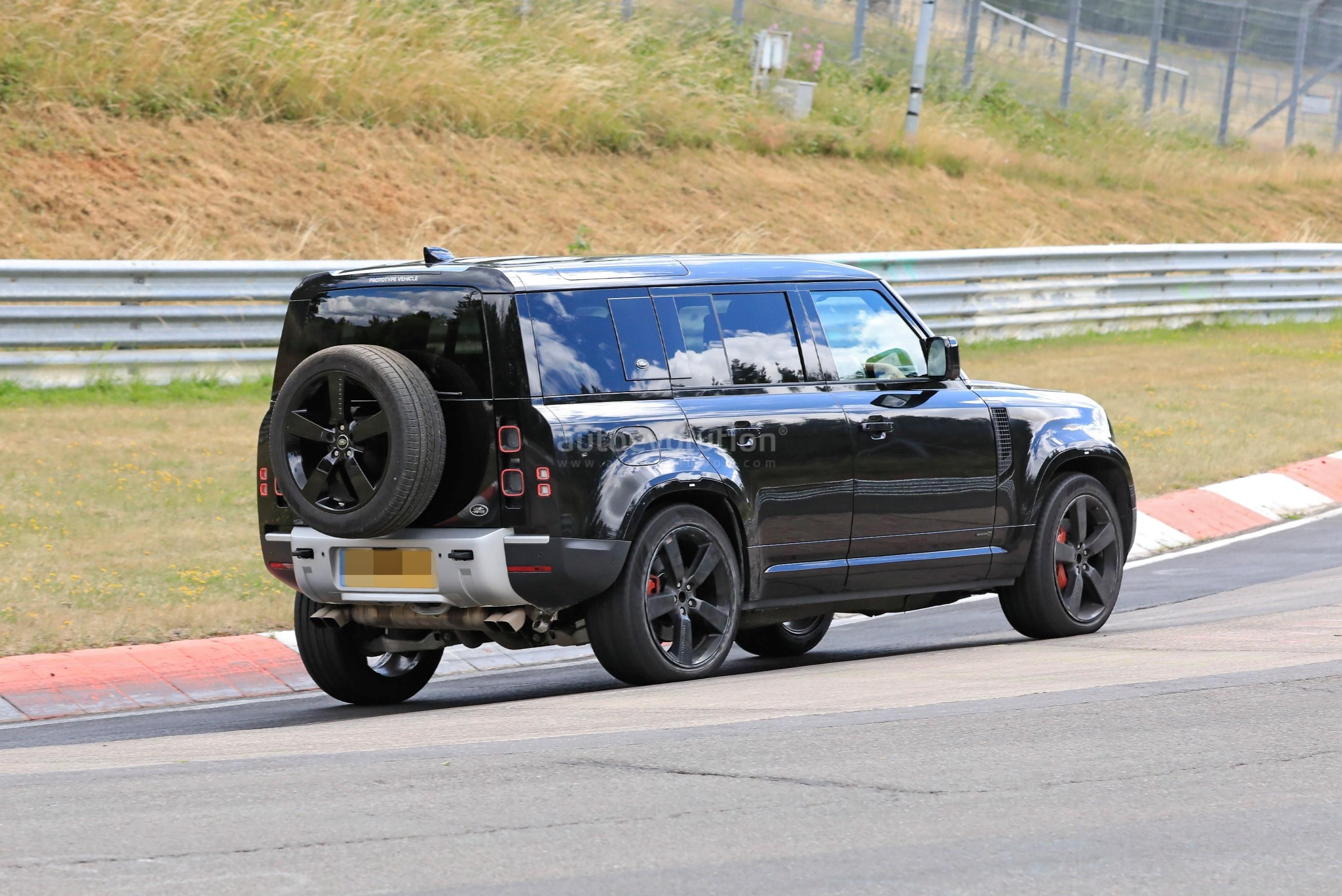 2021 Land Rover Defender V8 Engine Option Spied Fine ...