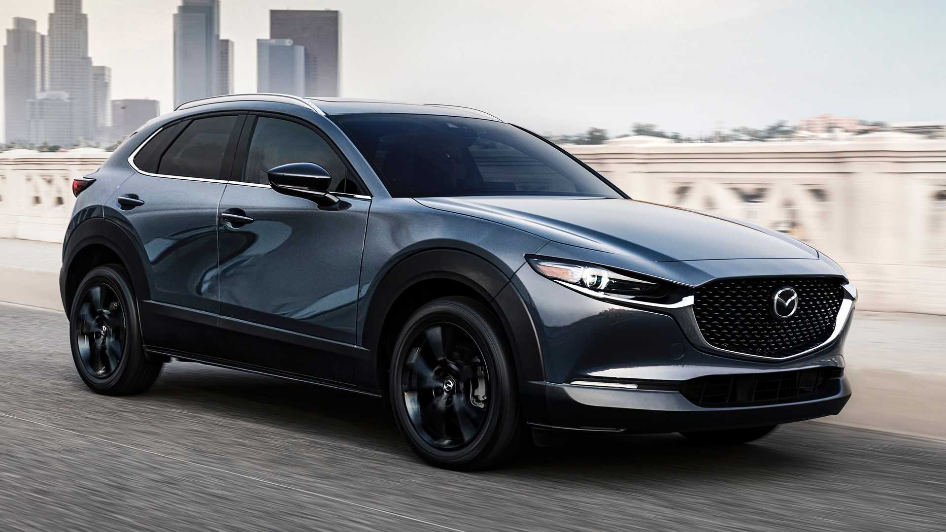 2021 mazda cx30 25 turbo has exactly 250 hp iactiv awd