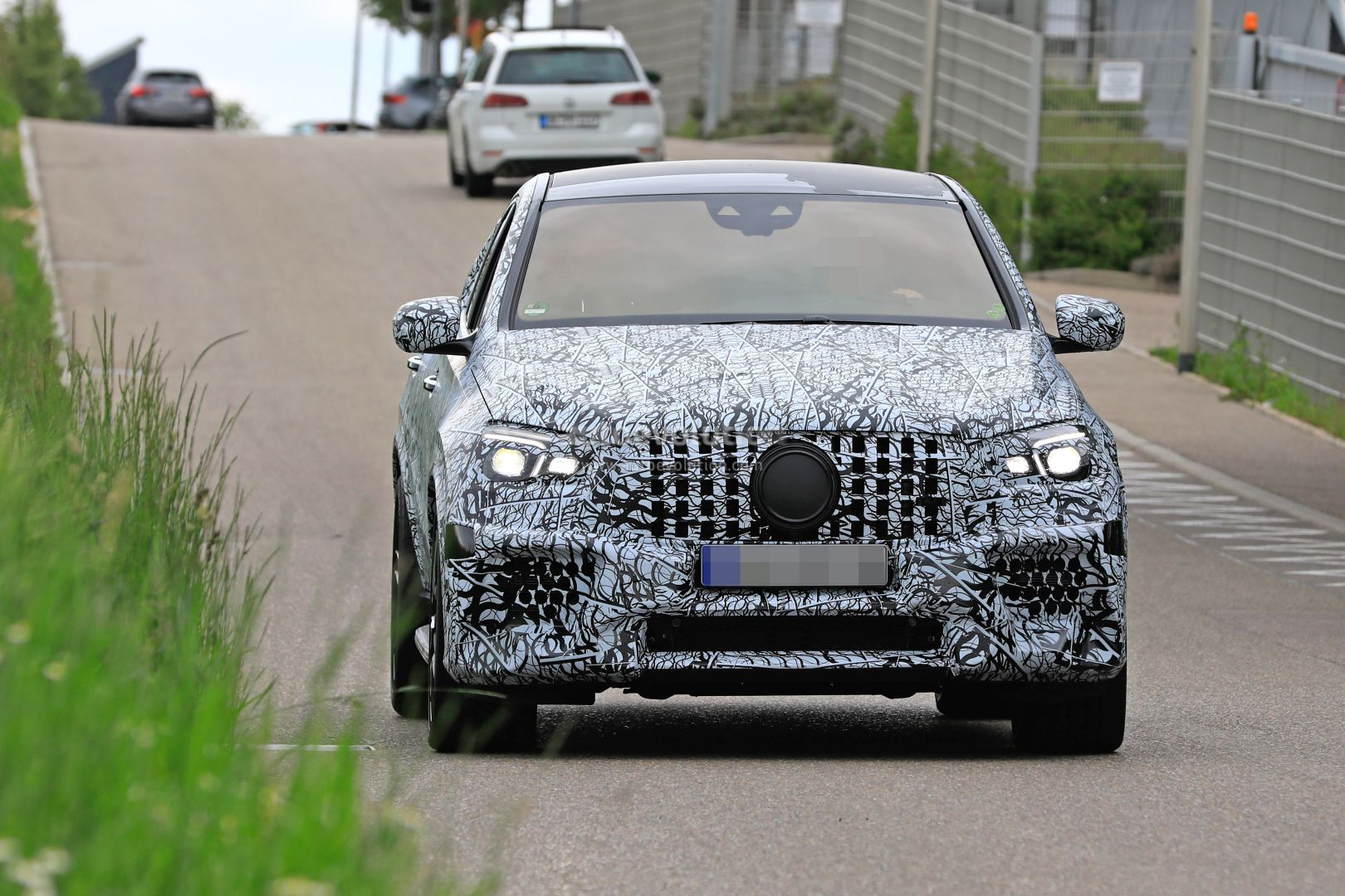 2021 Mercedes-AMG GLE 63 Coupe Spotted, Out For 2021 BMW ...