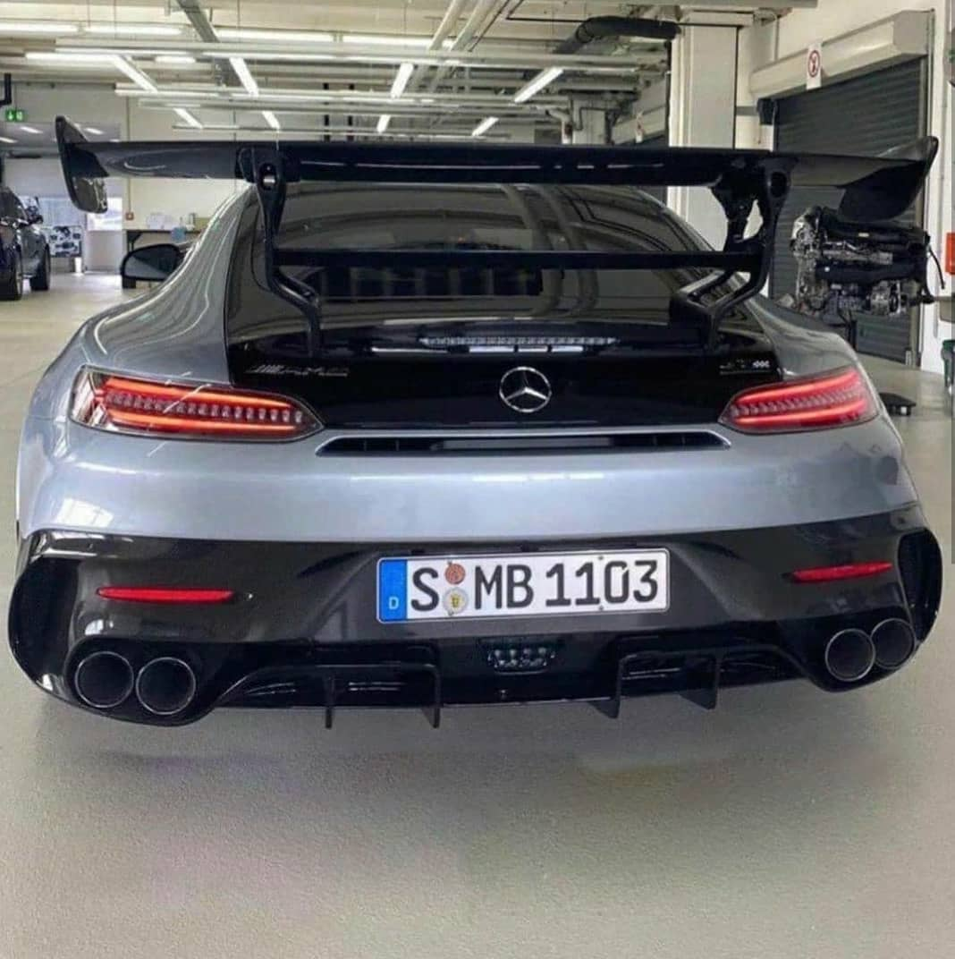 2021 Mercedes-AMG GT Black Series Gets Teased By Shmee150 ...