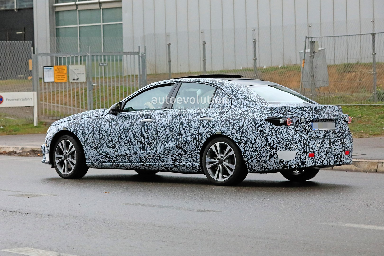 2021 mercedesbenz cclass sedan w206 makes spyshots