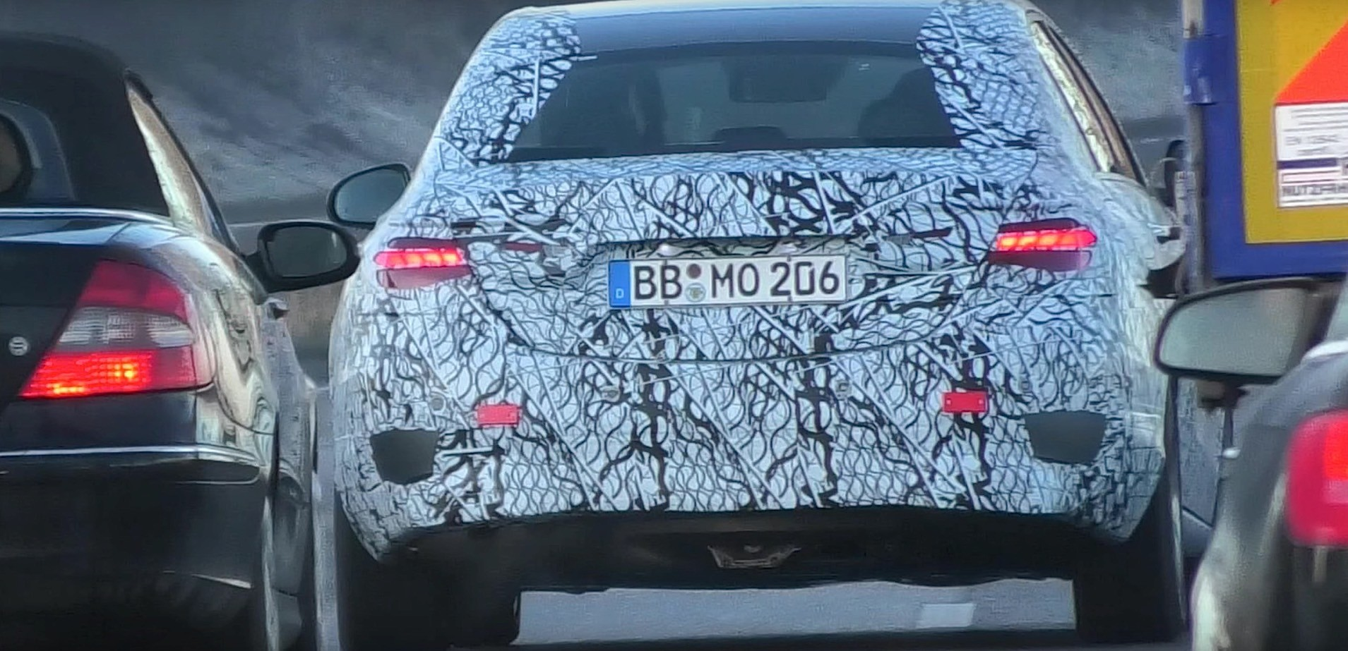 2021 Mercedes-Benz C-Class W206 Prototype Finally Shows ...