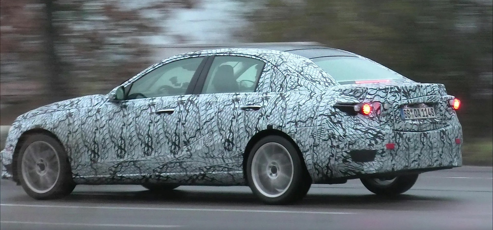 2021 Mercedes-Benz C-Class W206 Prototype Shares No ...