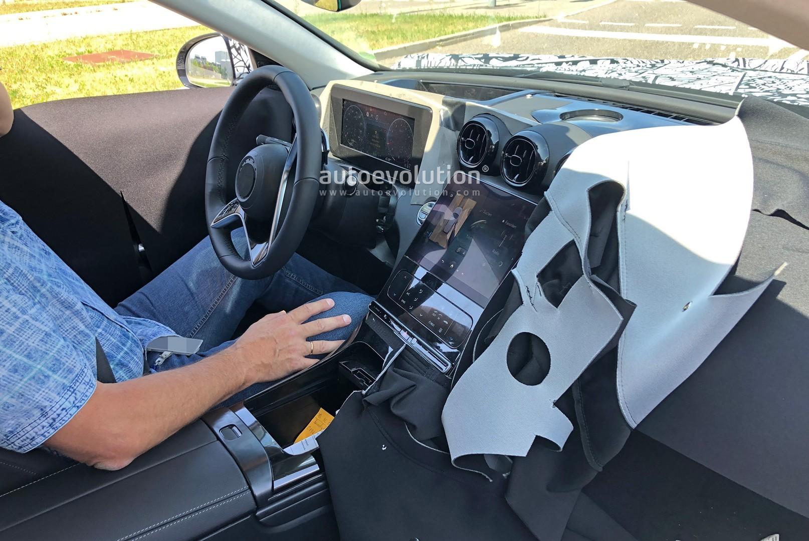 2021 Mercedes C-Class Interior Spied in Detail, Looks ...