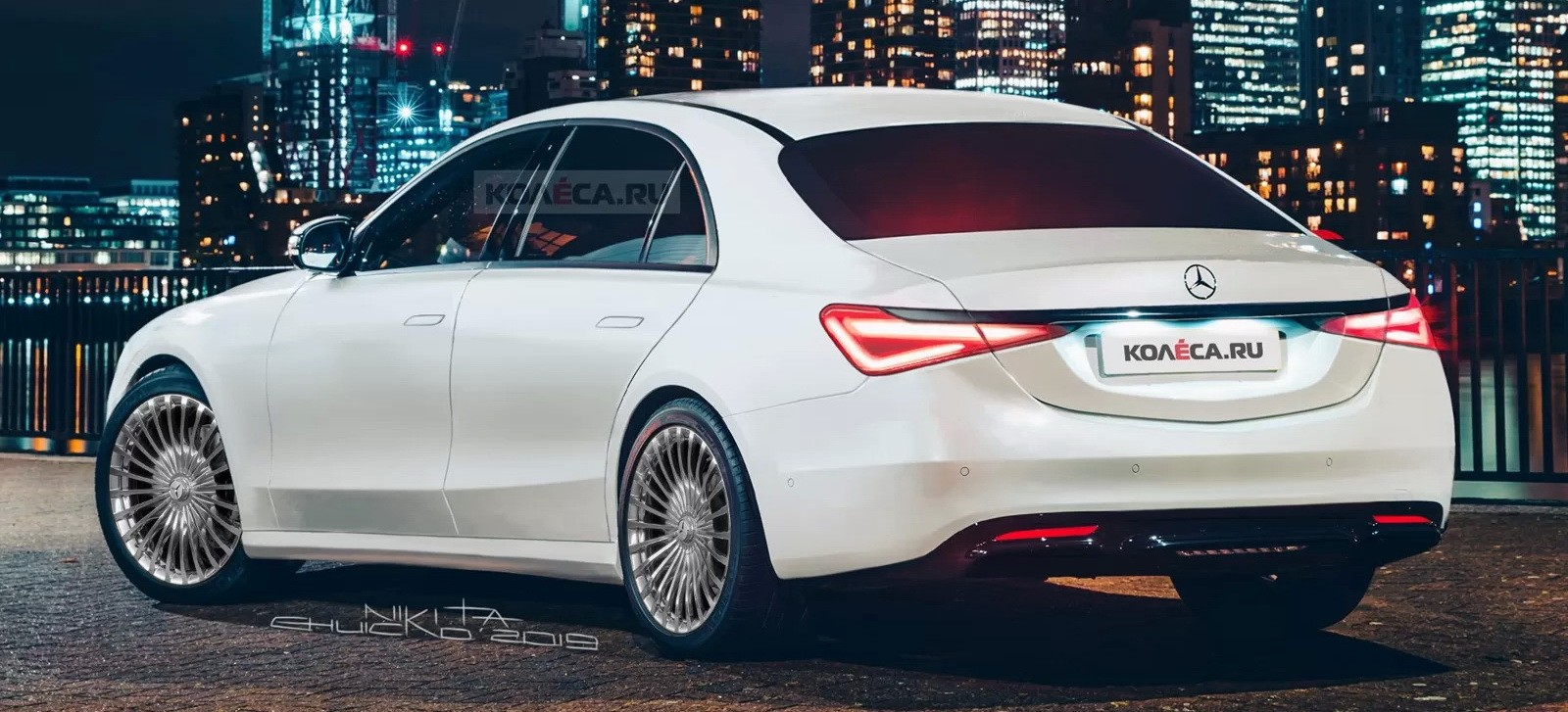 2021 Mercedes S-Class More Accurately Rendered, Is as Good ...