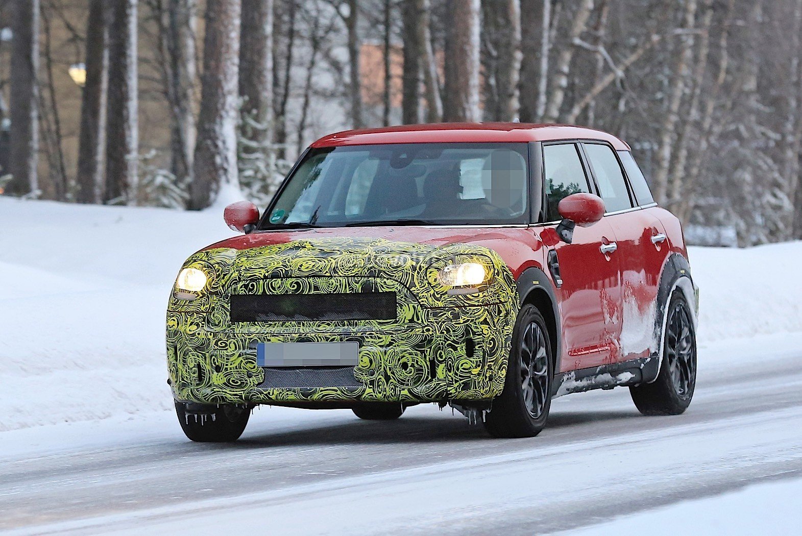 2021 Spy Shots Mini Countryman Redesign and Concept