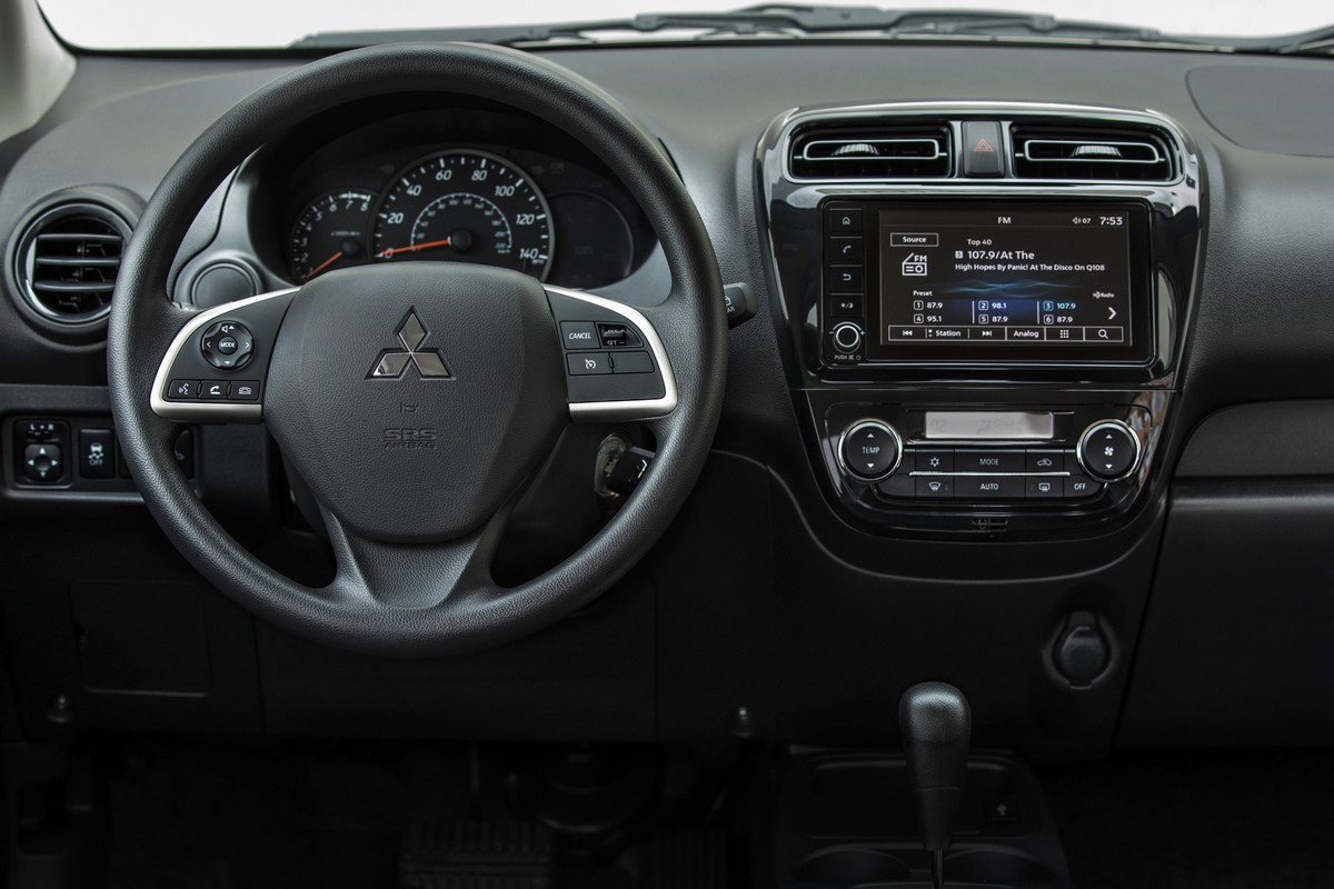 Review Mitsubishi Mirage 2021