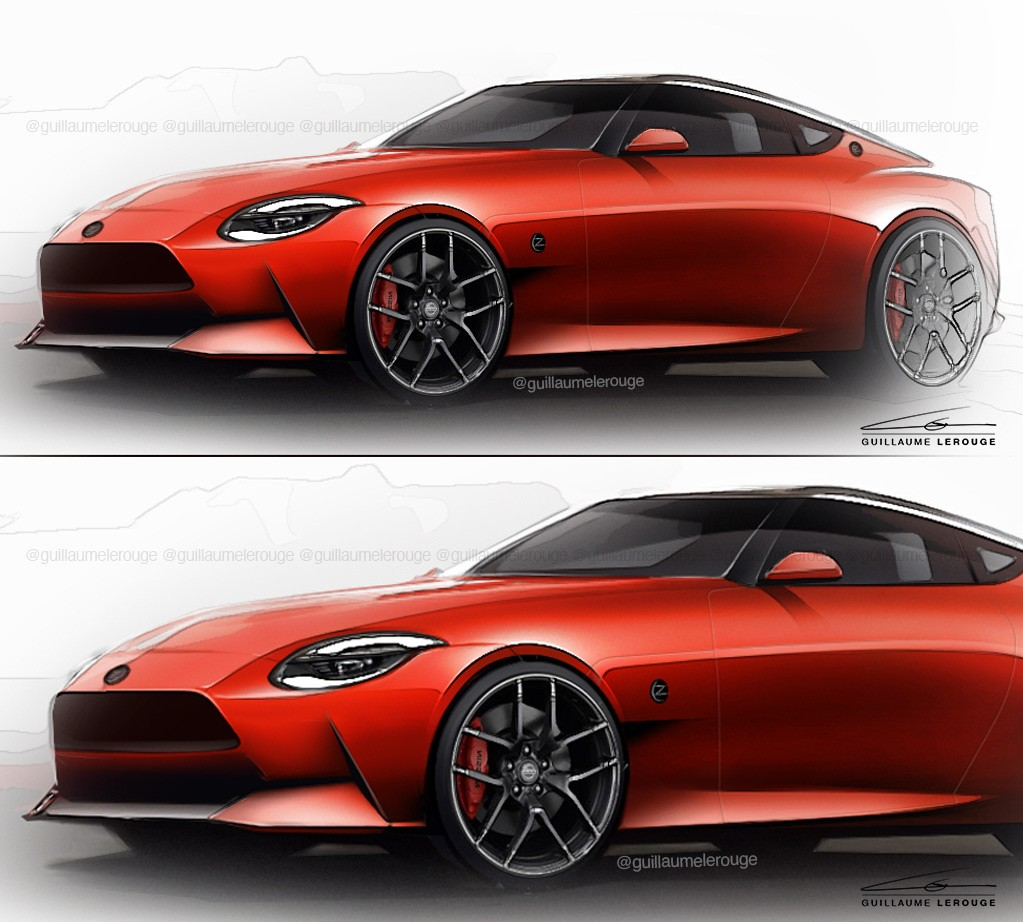 2021 Nissan 400Z Renderings Are Pretty Faithful to the ...