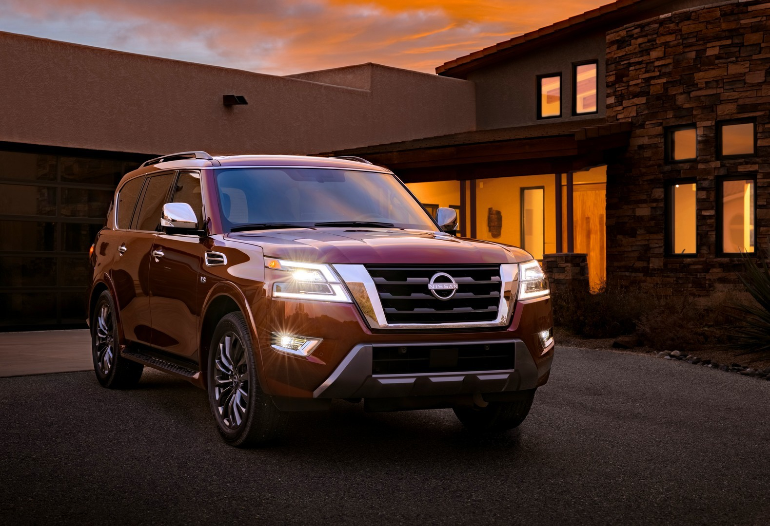 2021 nissan armada arrives stateside with an array of