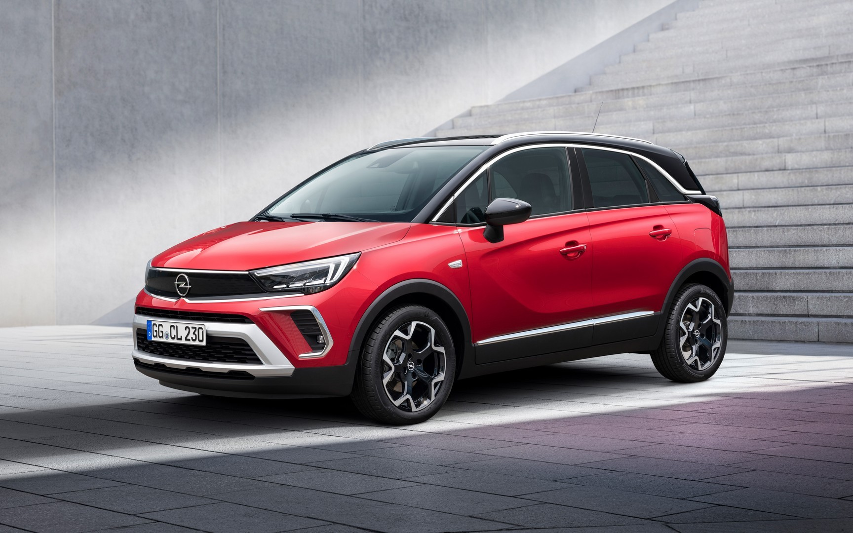2021 Opel Crossland Looks Quirky With Adapted Mokka Face ...