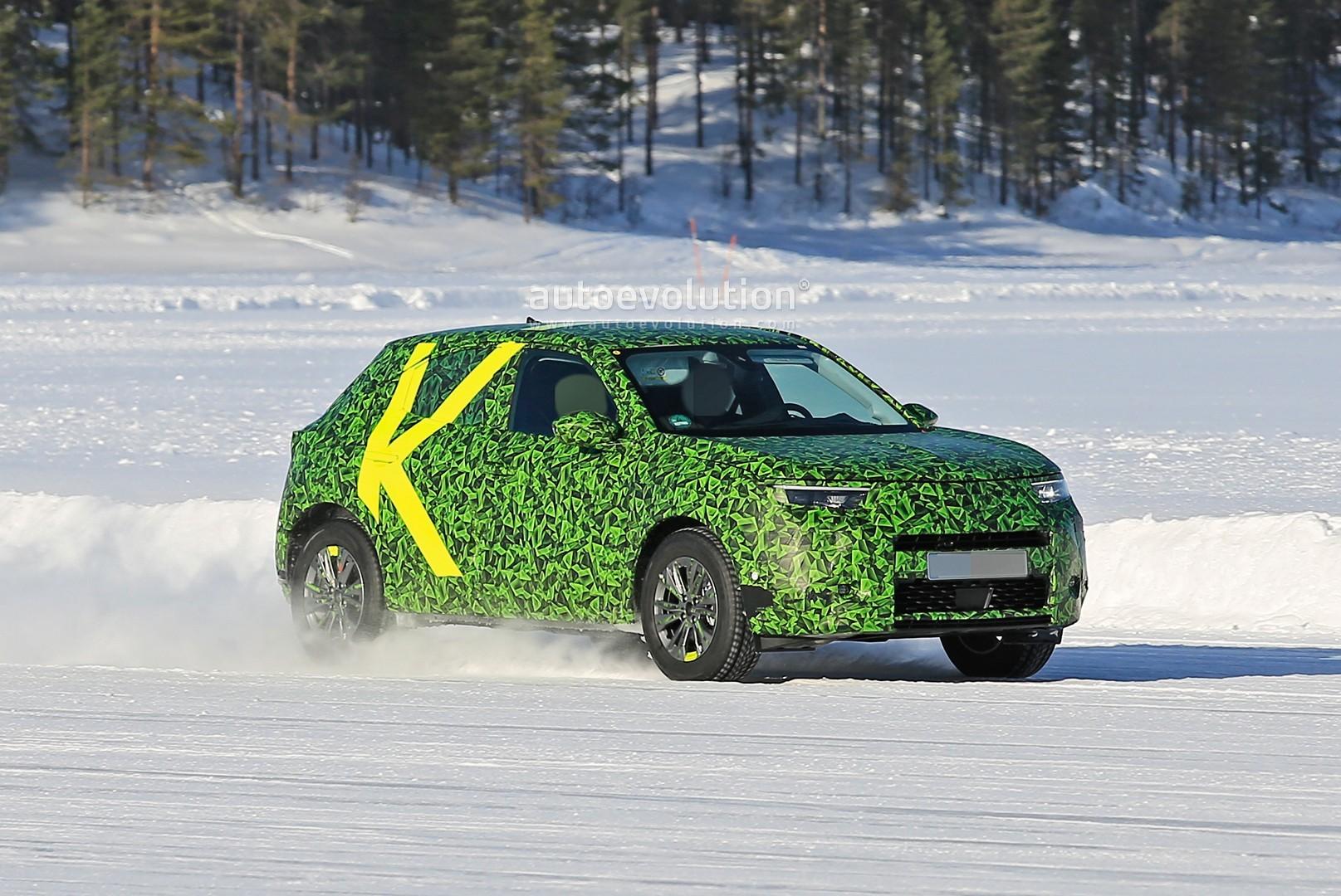 2021 Opel Mokka X Spied With Acid Camo, Looks Like a ...