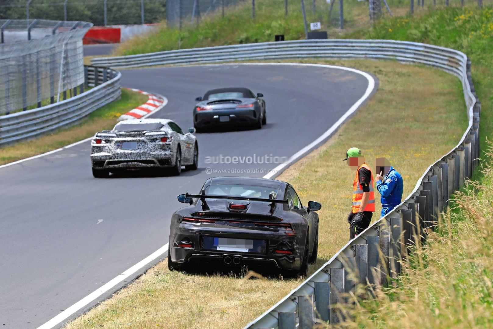 Porsche 911 Gt3 996 With Innotech Exhaust Shooting Flames