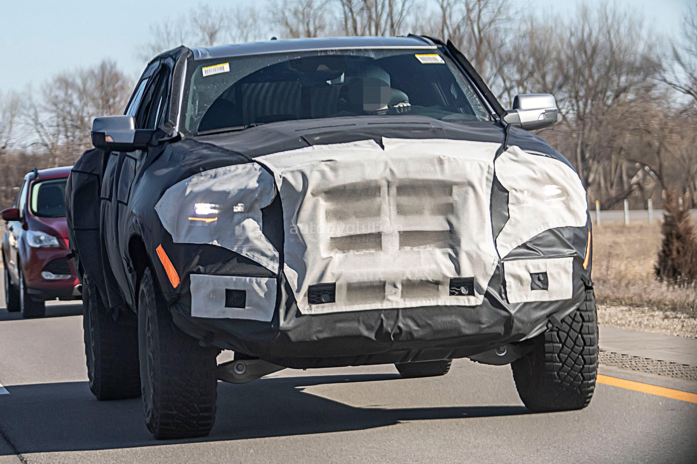 Ram 1500 Exhaust >> 2021 Ram 1500 Rebel TRX Spied With Goodyear Wrangler Off-Road Tires, Looks Big - autoevolution