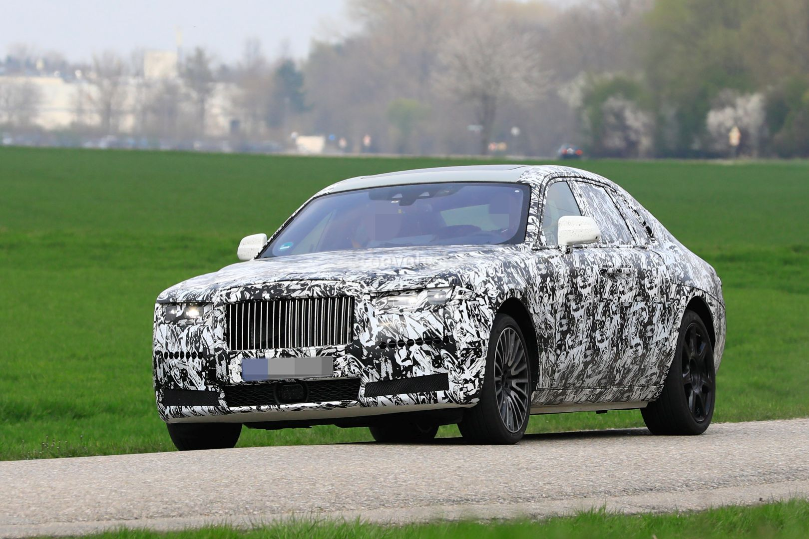 2021 Rolls Royce Ghost Prototype Spotted On The Road