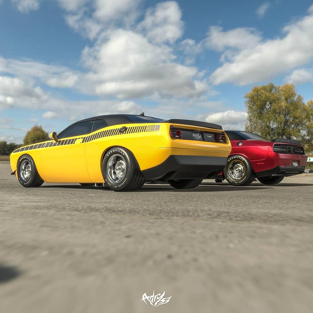 Supercharged Dodge Challenger SRT8: the Sound of Evil ...