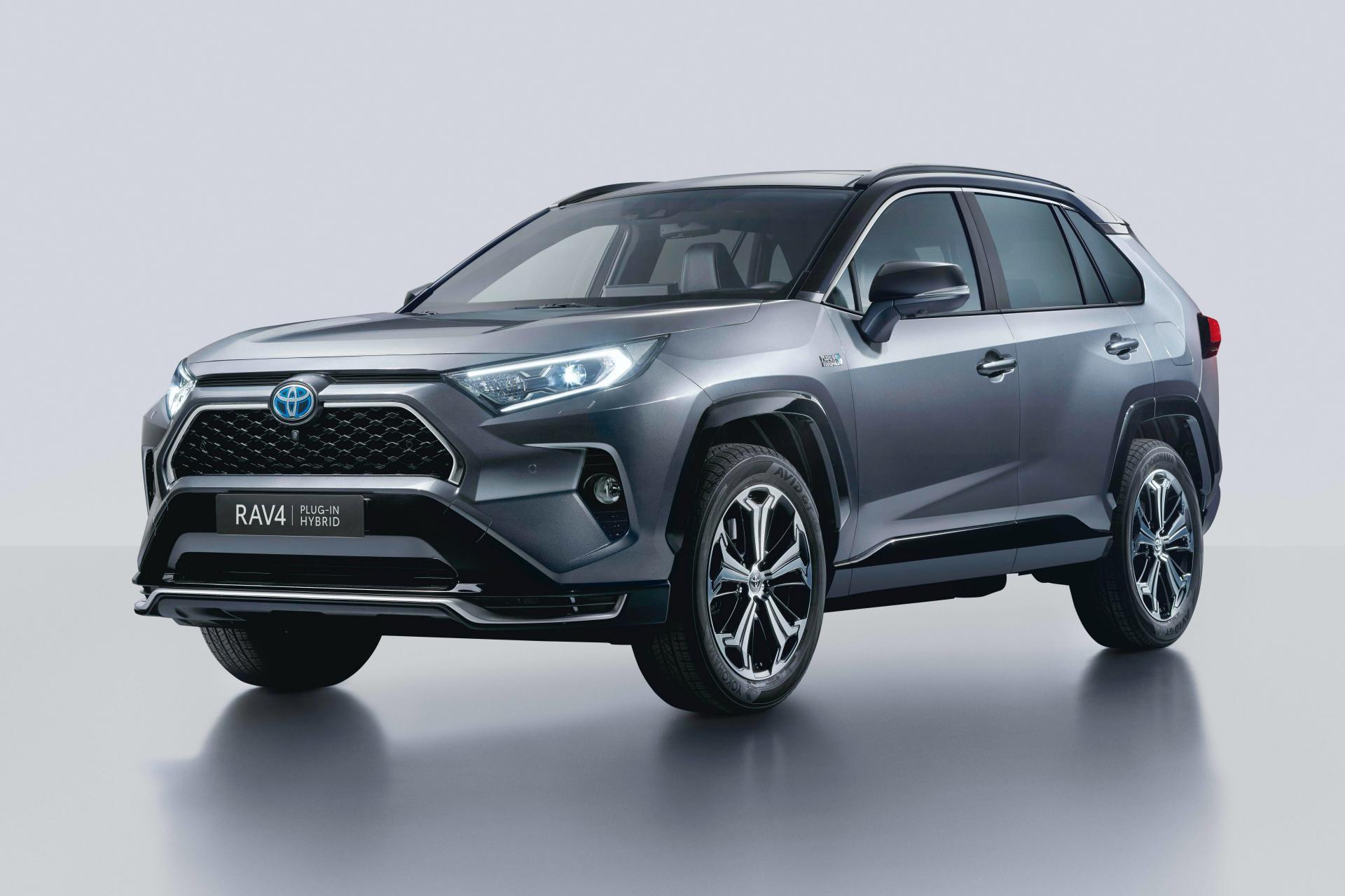 2021 Toyota Rav4 Plug In Hybrid Is The Prime S European Cousin Autoevolution