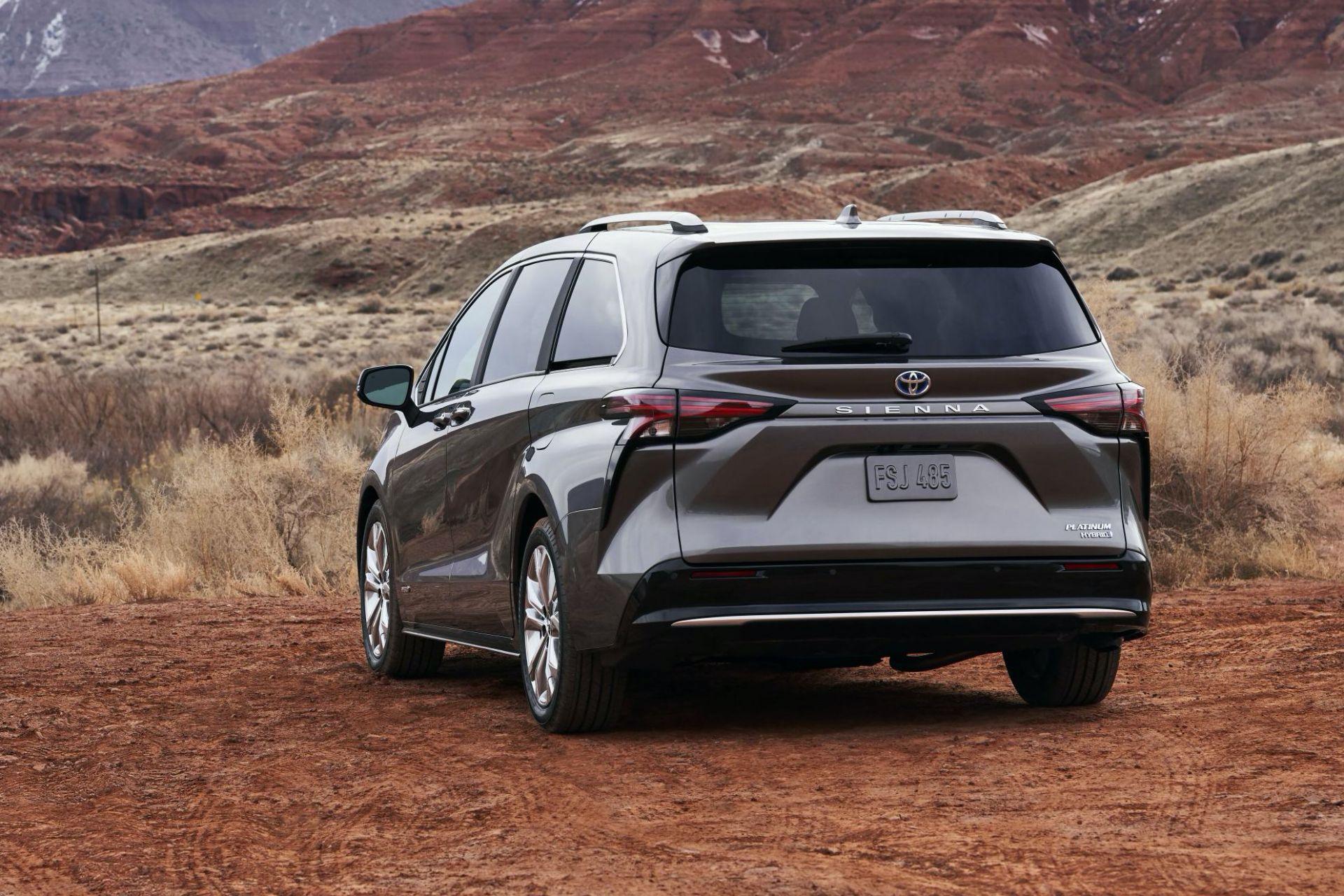 2021 Toyota Sienna Unveiled as Bold New Hybrid Minivan ...