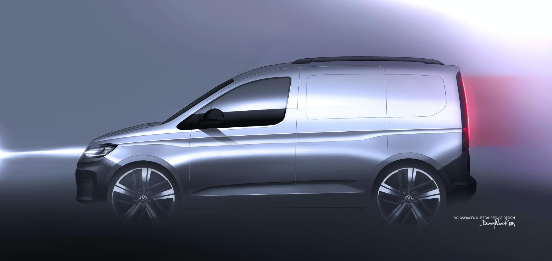 2021 volkswagen caddy leaked official photos confirm new