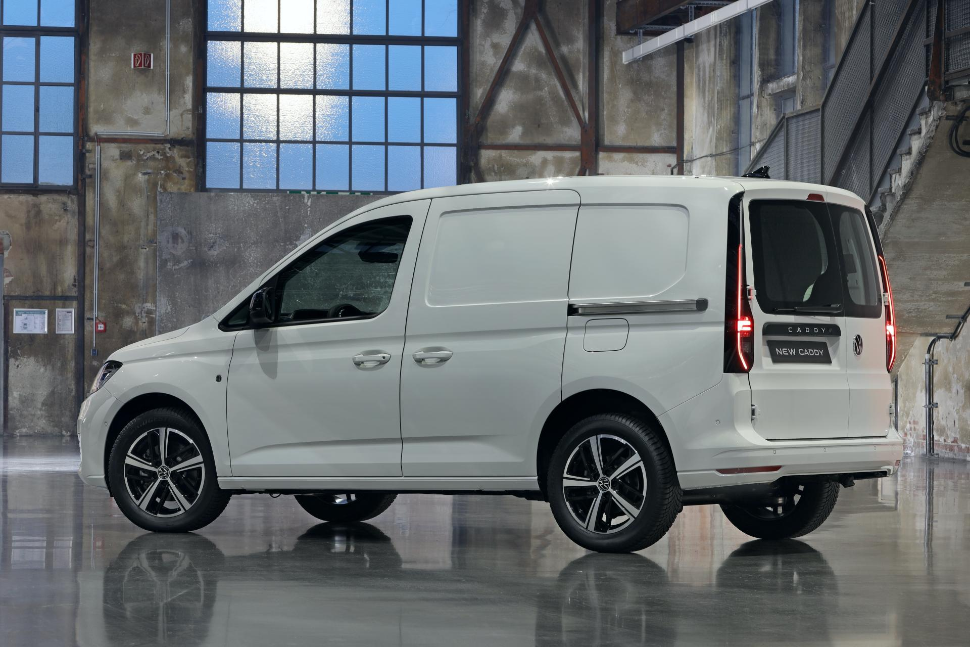 2021 volkswagen caddy revealed, low-spec model features